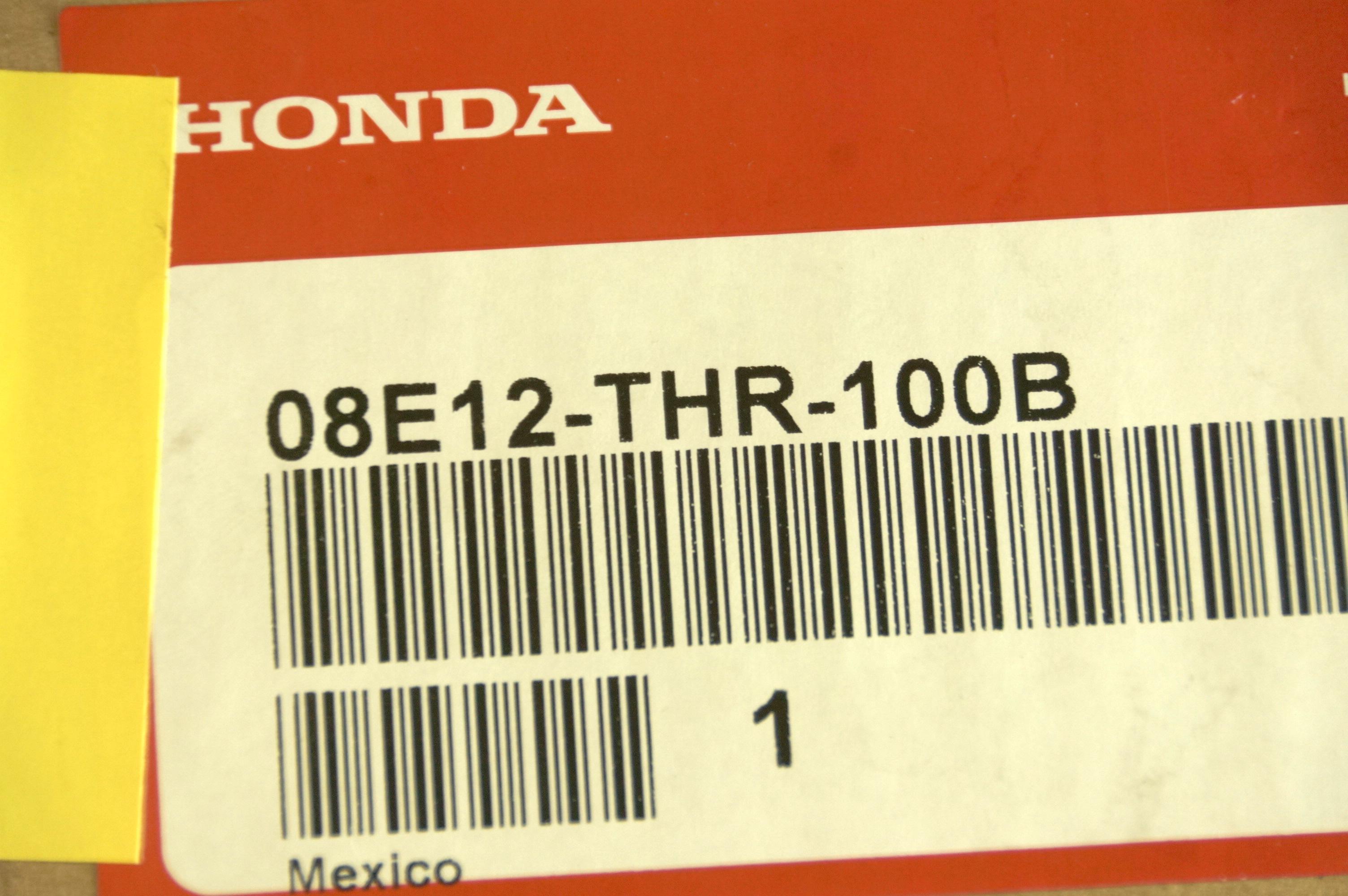 OEM 08E12THR100B Genuine Honda Odyssey 25th Anniversary Illuminated Door Sill - image 7