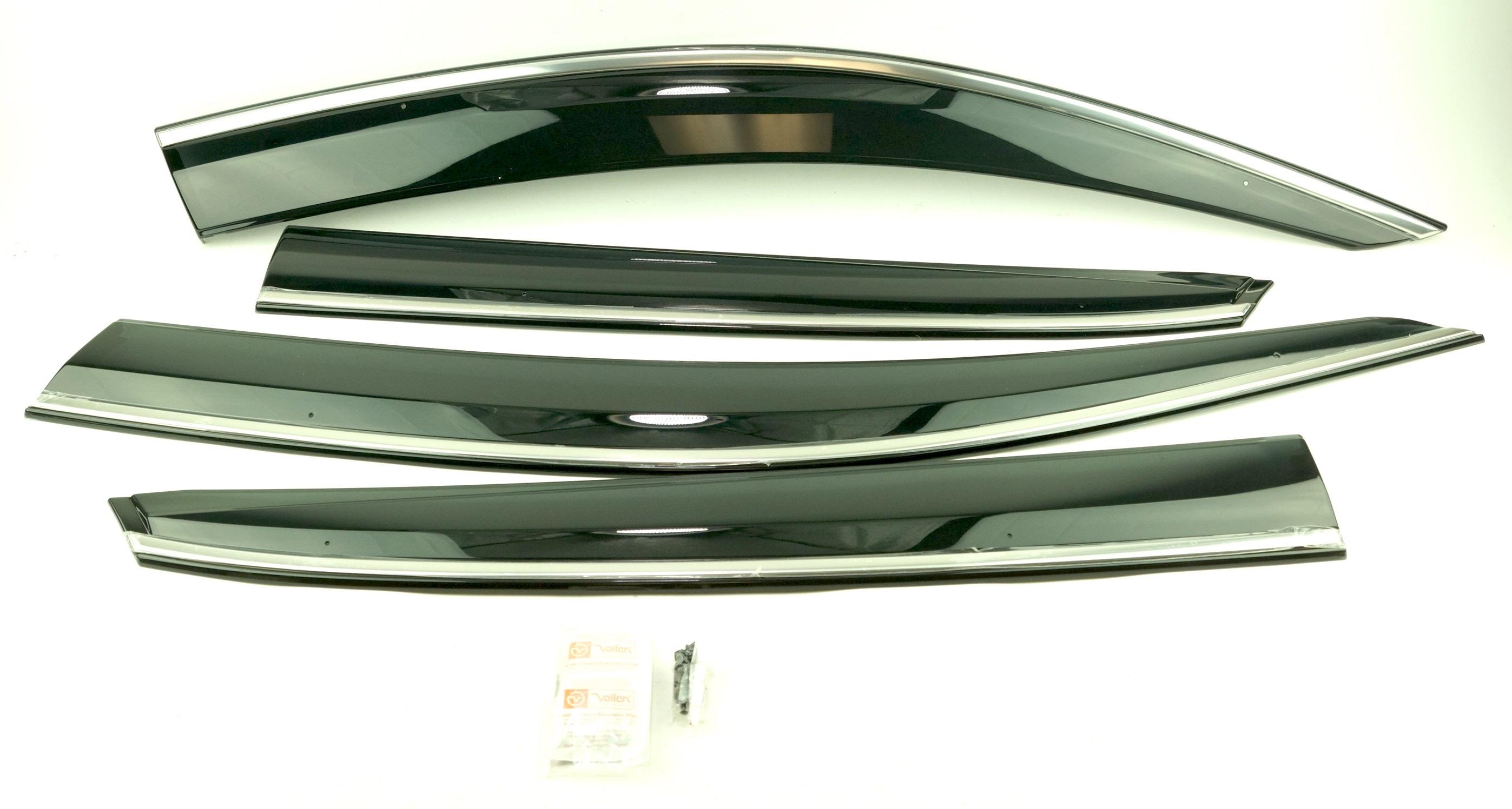 New OEM 08R04TGG100 Honda Civic Hatchback Sport Touring Door Visor Kit 5Dr Hatch - image 1