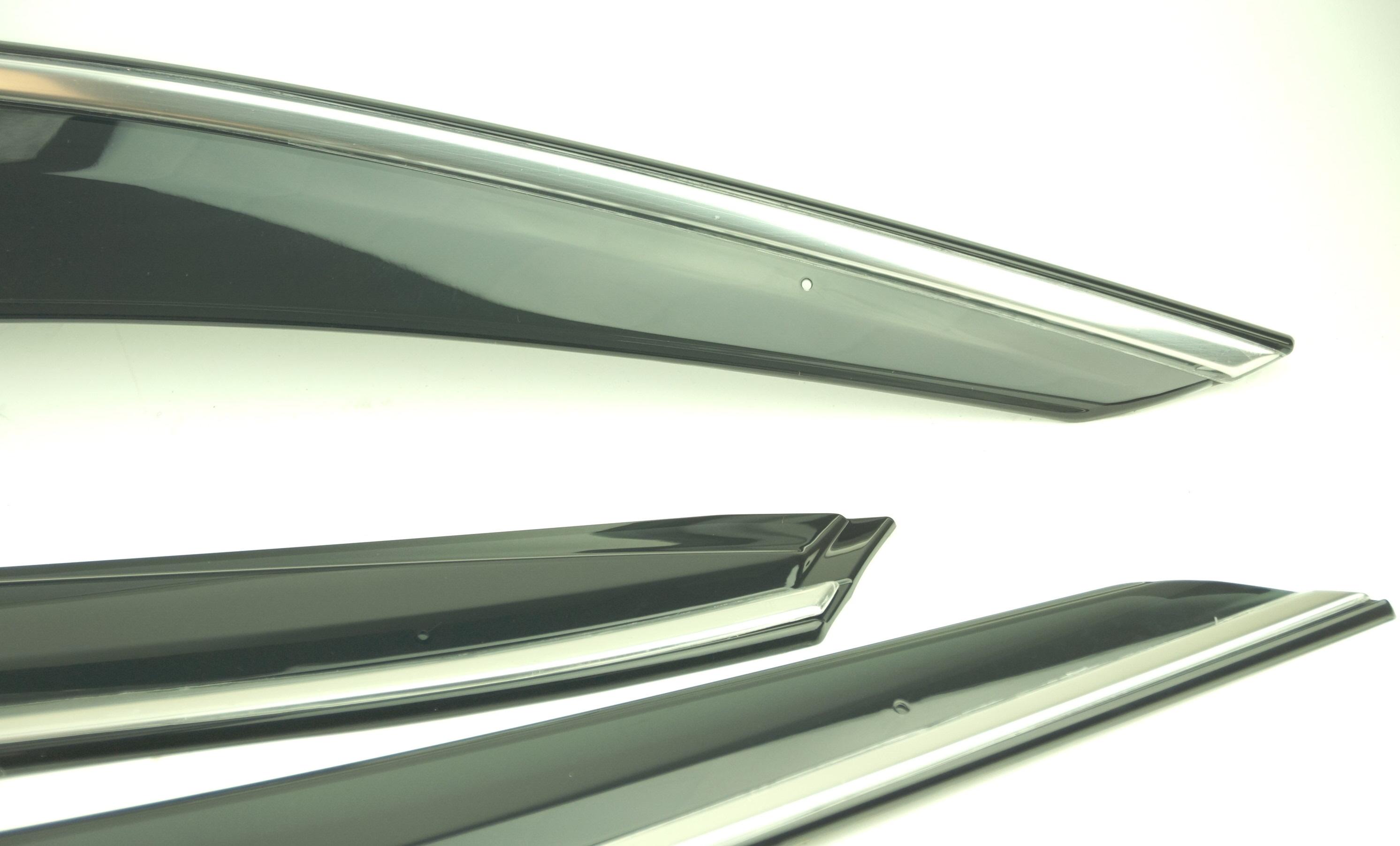 New OEM 08R04TGG100 Honda Civic Hatchback Sport Touring Door Visor Kit 5Dr Hatch - image 4