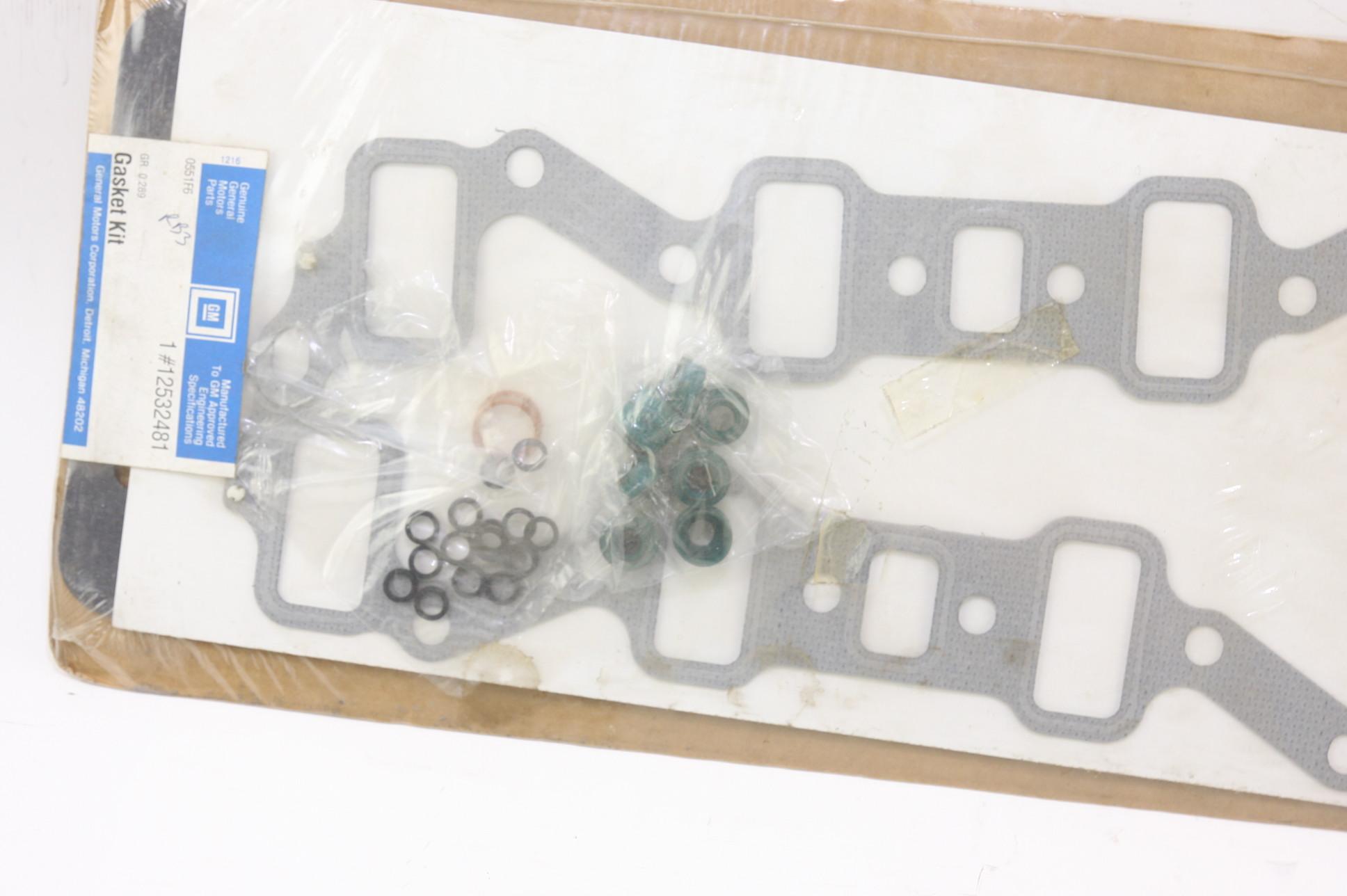 *** New OEM Genuine GM 12532481 Gasket Set Free Shipping NIP - image 5