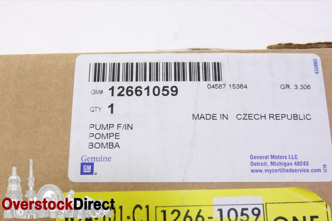 New OEM 12661059 GM Diesel Fuel Injection Pump Duramax Turbo 11-16 Chevy GMC NIP - image 8