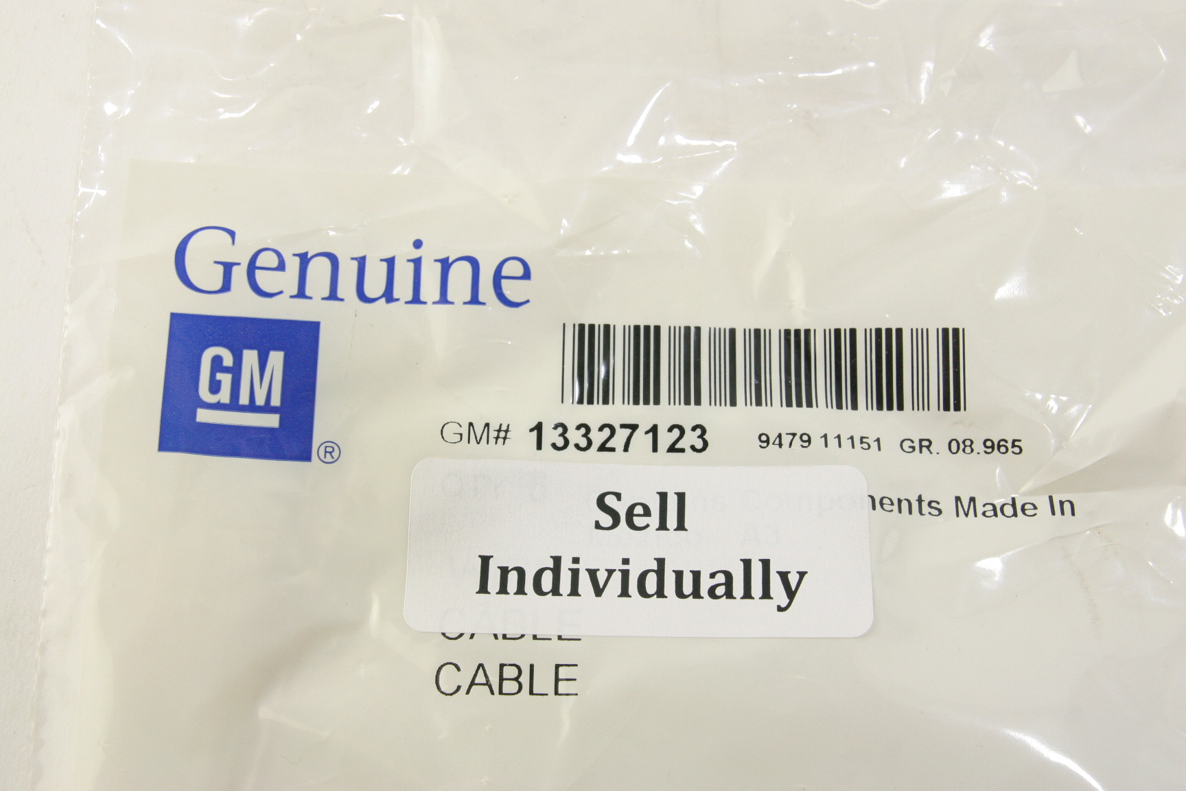 New Oem 13327123 Gm Wire Kit Wiring Harness Repair Cable Fast Free Shipping