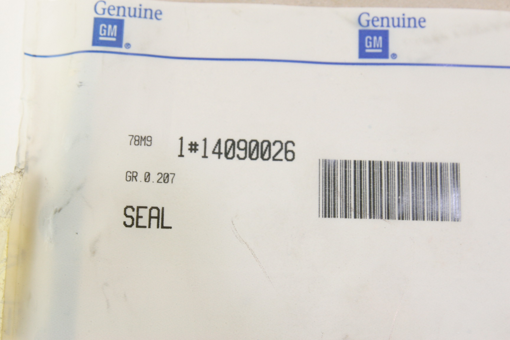 **** New OEM Genuine GM ACDelco 14090026 Cover Gasket Free Shipping - image 2