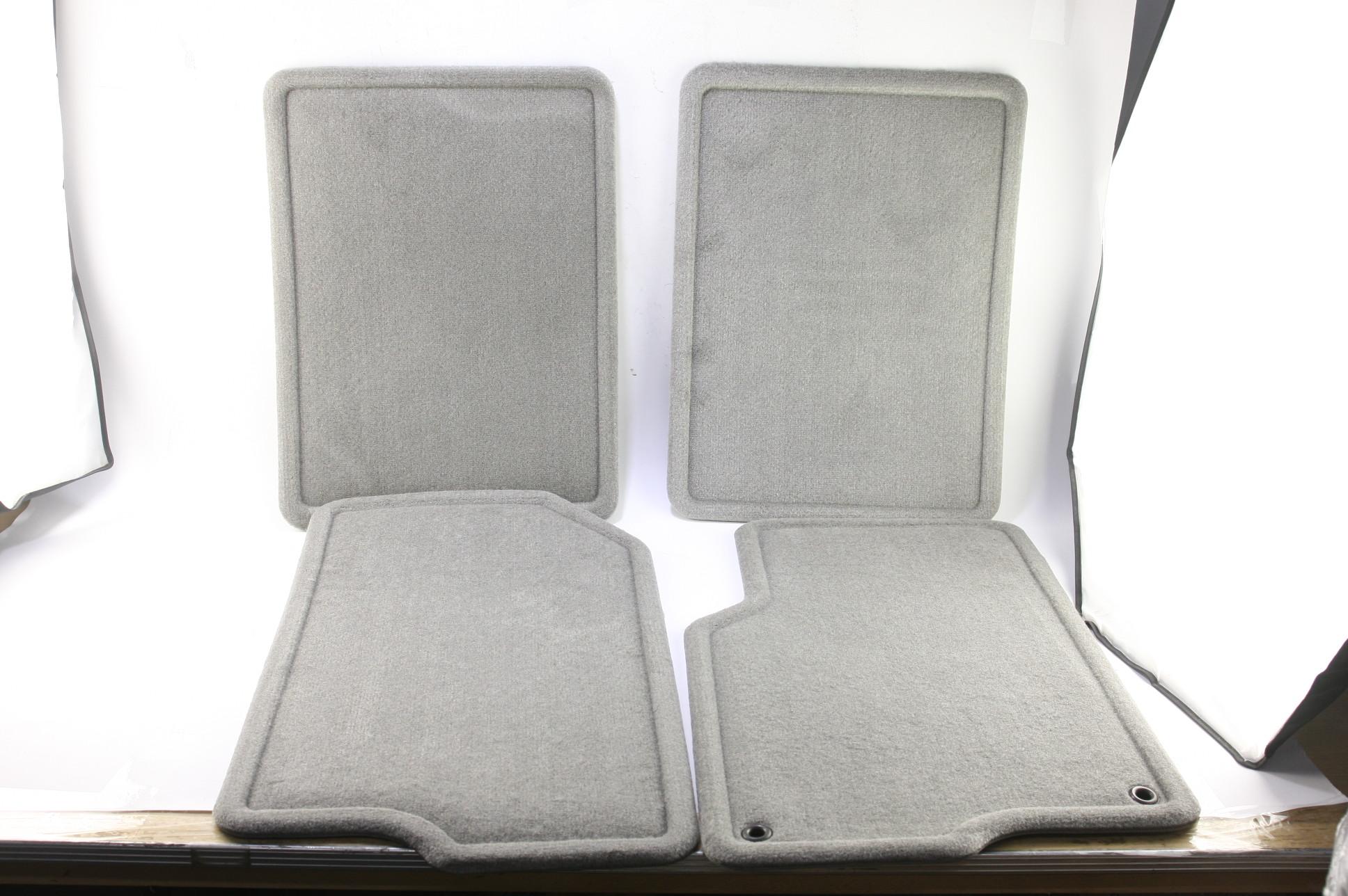 New GM OEM 15290071 05-09 Equinox Front and Rear Custom Carpet Floor Mats Gray - image 1