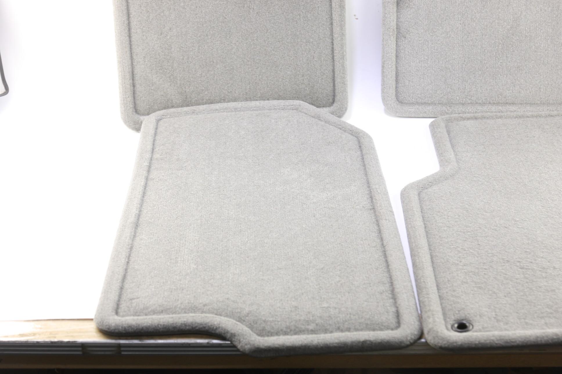 New GM OEM 15290071 05-09 Equinox Front and Rear Custom Carpet Floor Mats Gray - image 7
