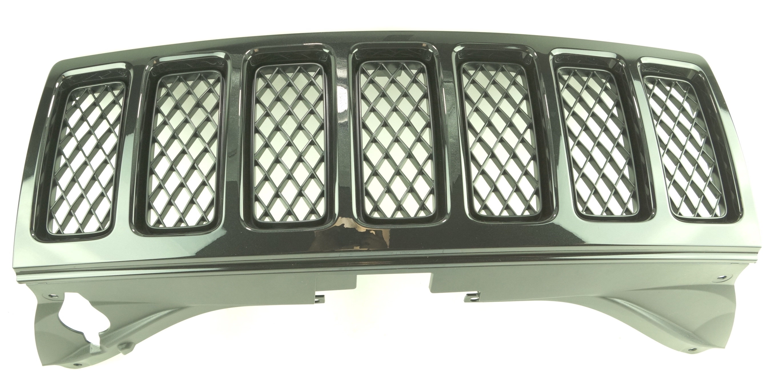 New OEM 1FW131XR-AC 08-10 Jeep Grand Cherokee Black Radiator Grille Assembly - image 1
