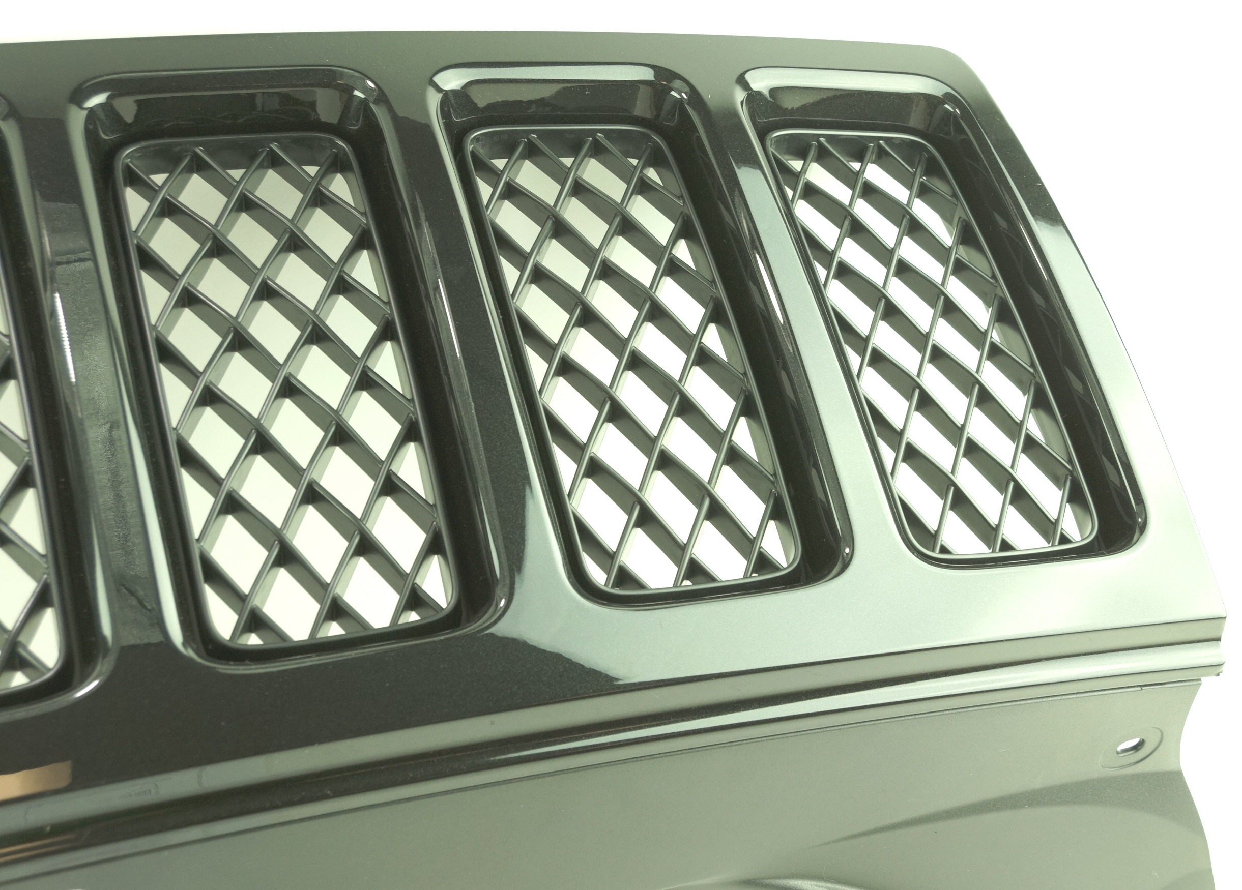 New OEM 1FW131XR-AC 08-10 Jeep Grand Cherokee Black Radiator Grille Assembly - image 6