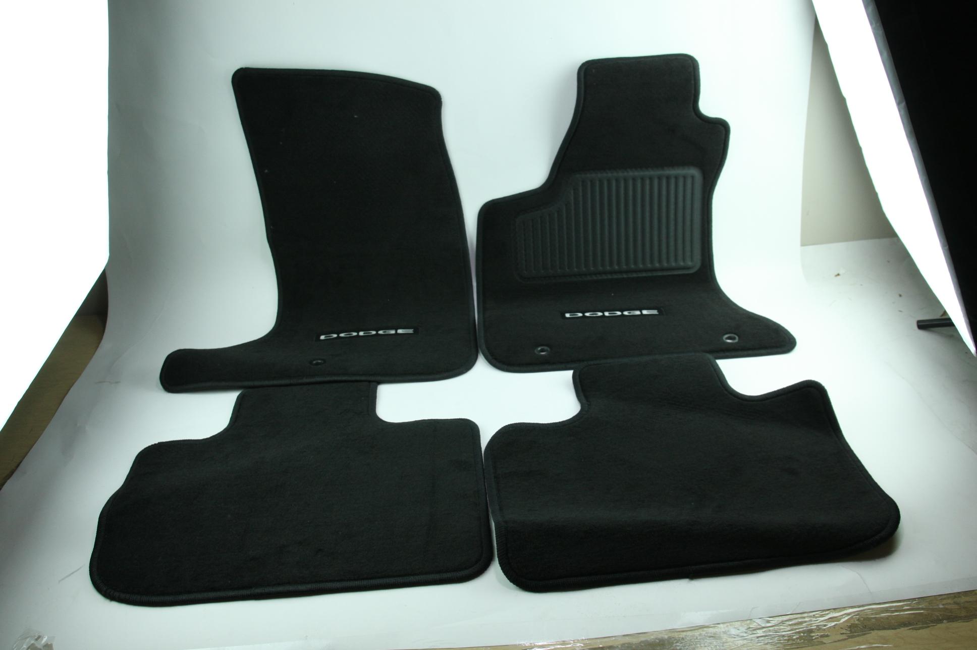 New OEM Genuine Mopar 1NL24DX9AC 11-12 Dodge Charger Mat Kit Front & Rear NIP - image 1