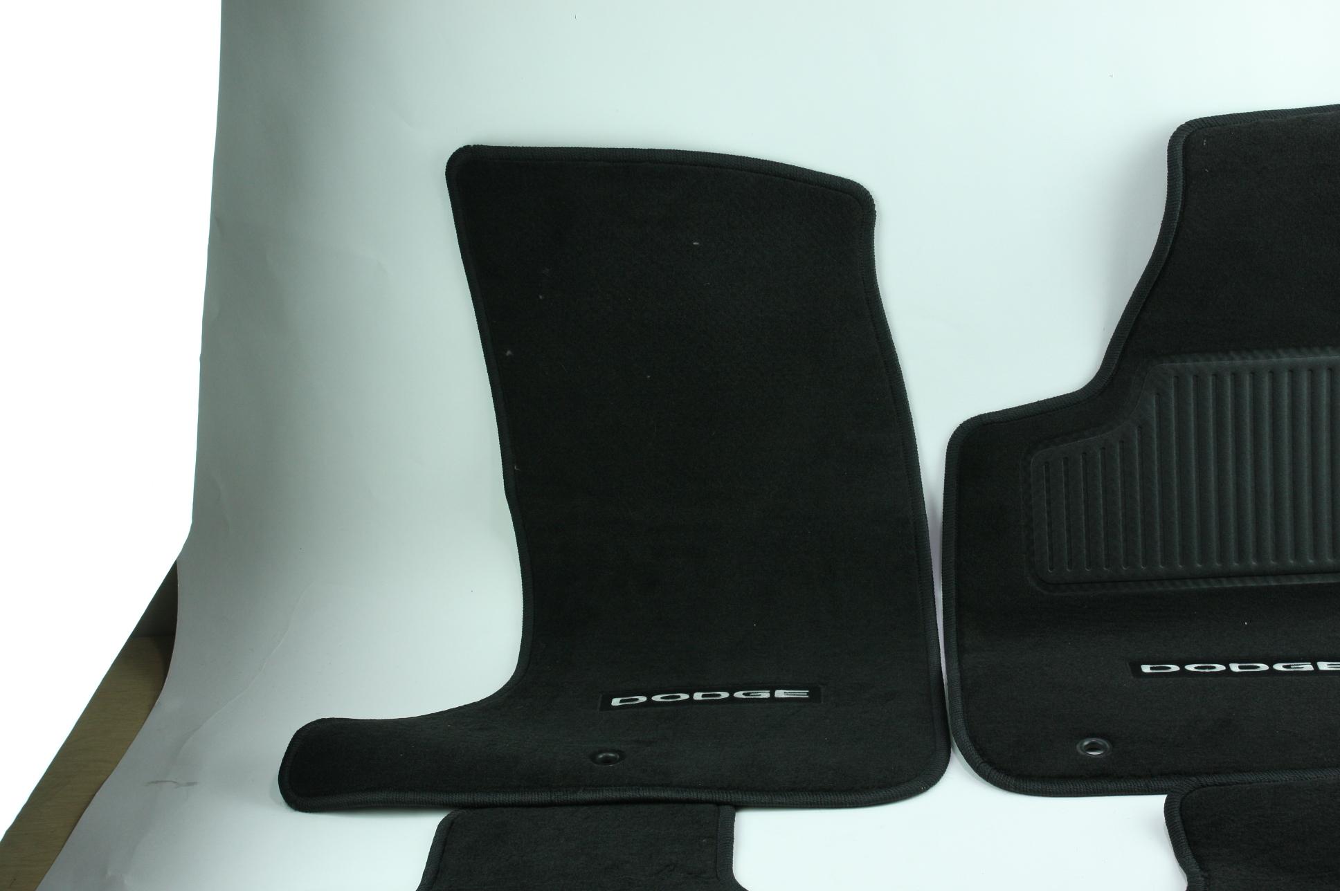 New OEM Genuine Mopar 1NL24DX9AC 11-12 Dodge Charger Mat Kit Front & Rear NIP - image 3