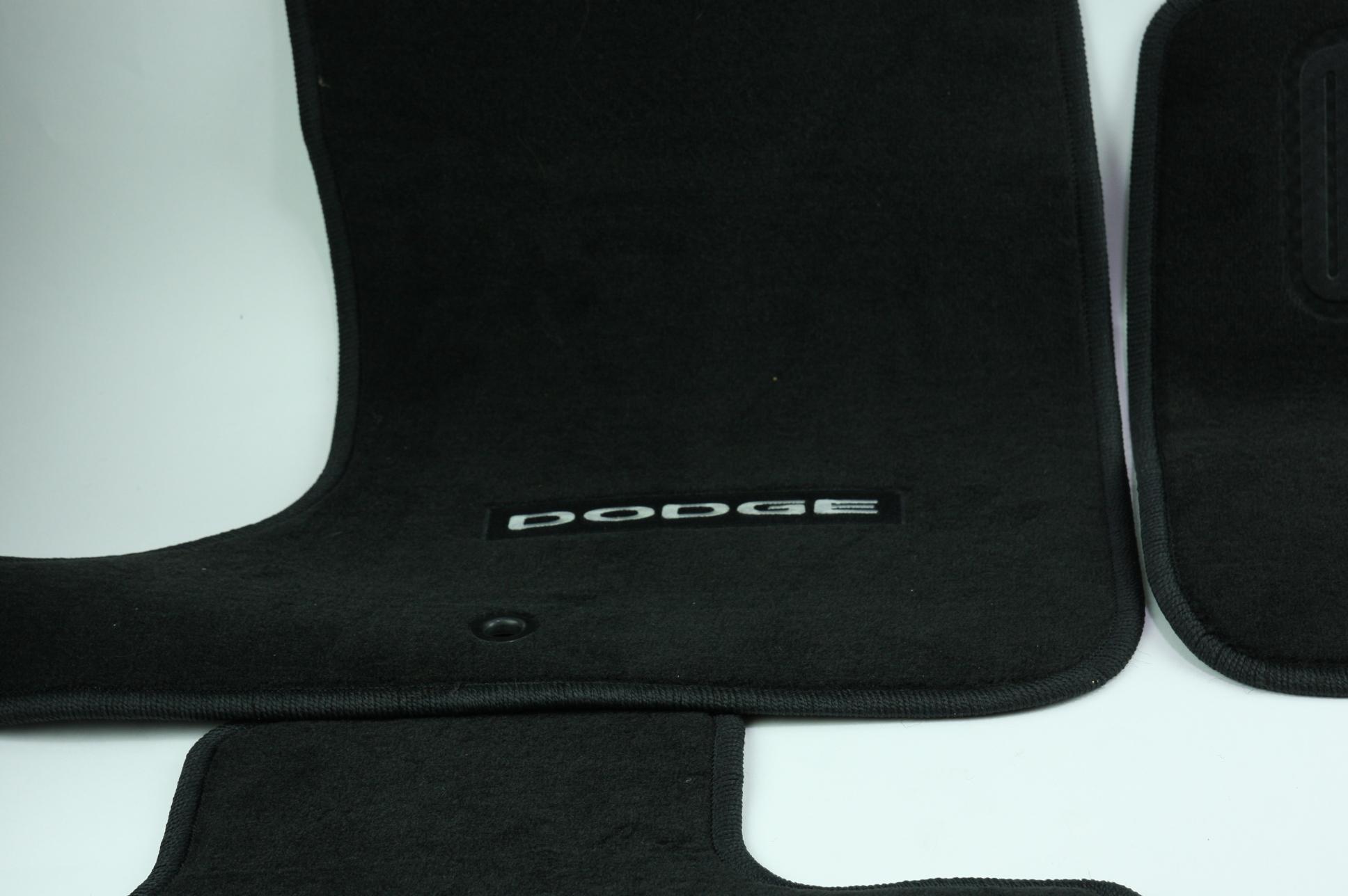 New OEM Genuine Mopar 1NL24DX9AC 11-12 Dodge Charger Mat Kit Front & Rear NIP - image 4