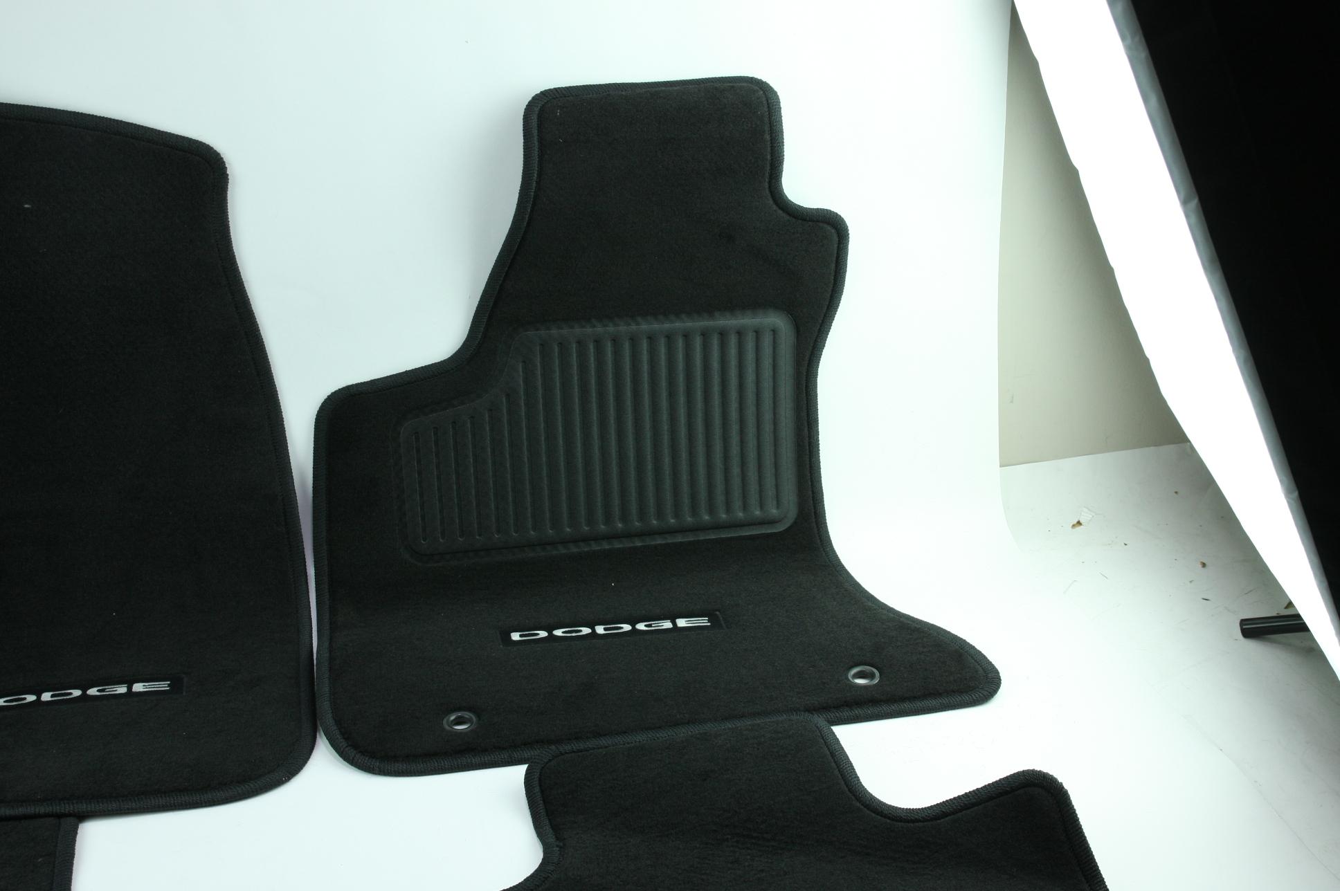 New OEM Genuine Mopar 1NL24DX9AC 11-12 Dodge Charger Mat Kit Front & Rear NIP - image 5