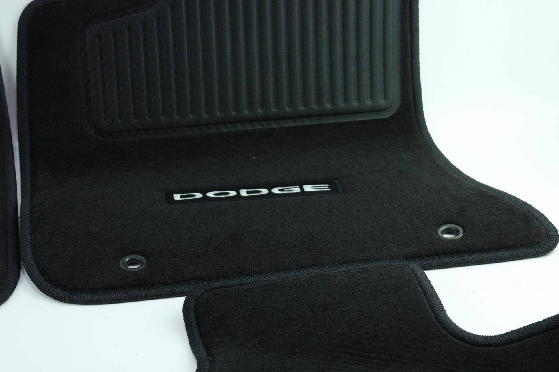 New OEM Genuine Mopar 1NL24DX9AC 11-12 Dodge Charger Mat Kit Front & Rear NIP - image 6