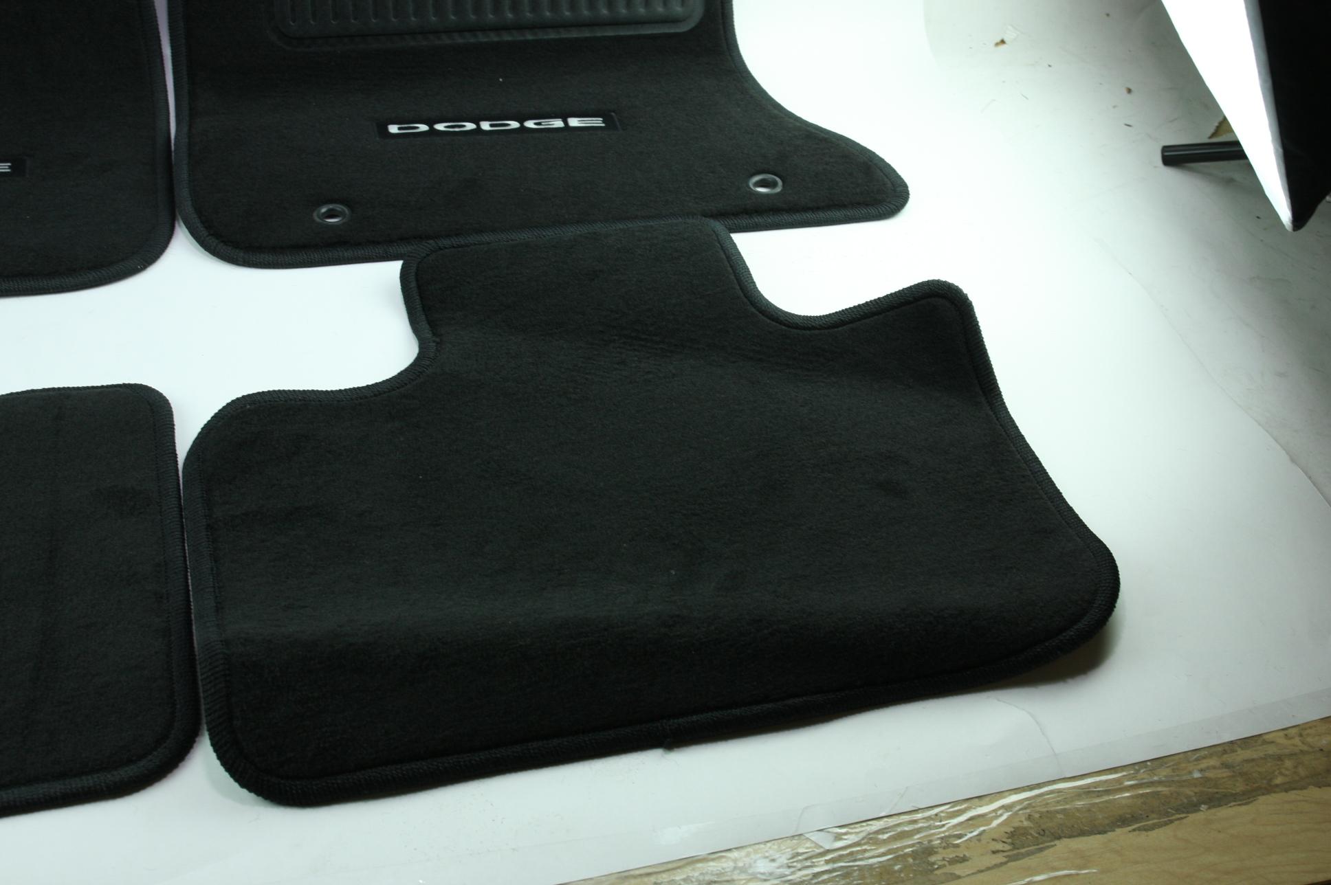 New OEM Genuine Mopar 1NL24DX9AC 11-12 Dodge Charger Mat Kit Front & Rear NIP - image 7