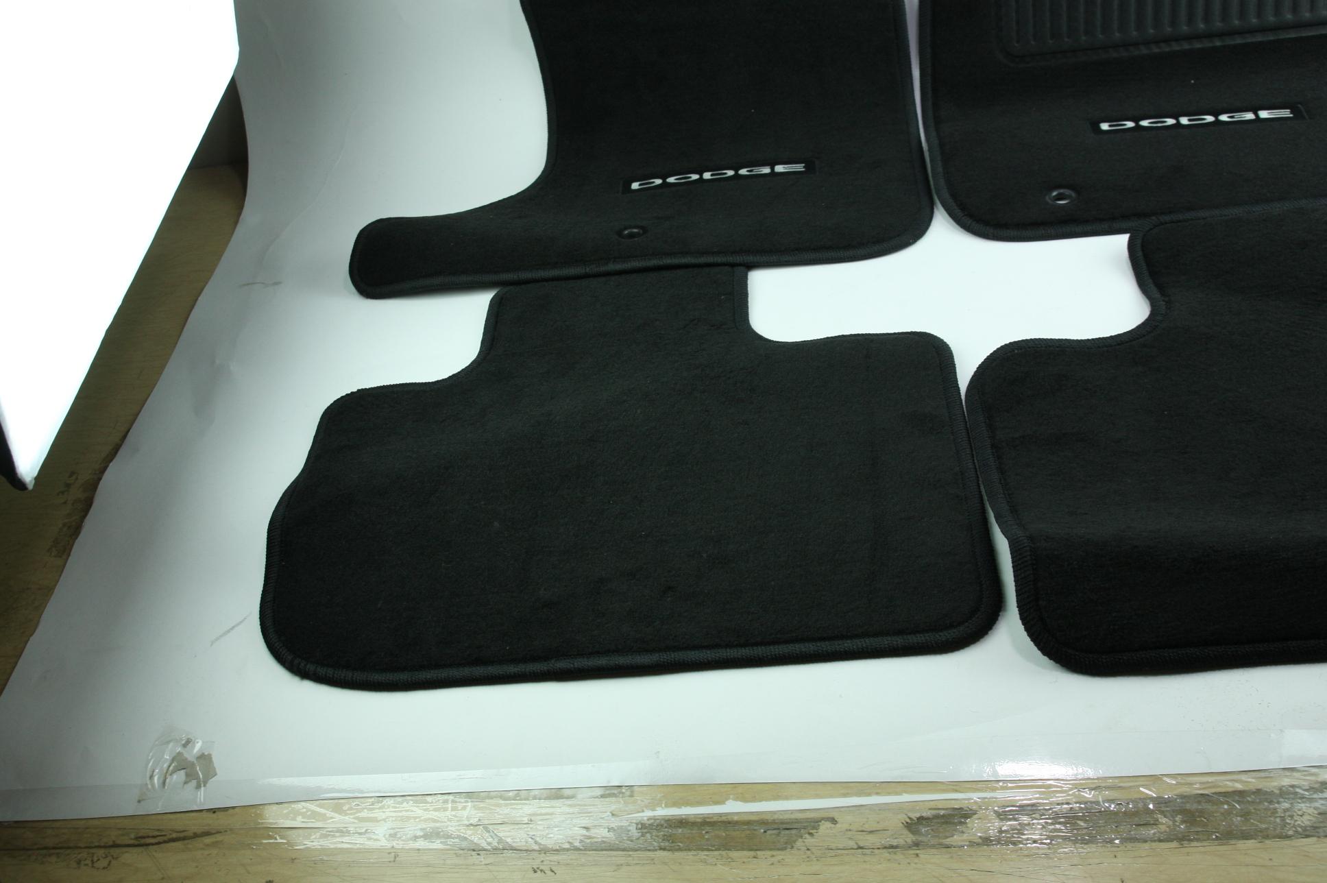 New OEM Genuine Mopar 1NL24DX9AC 11-12 Dodge Charger Mat Kit Front & Rear NIP - image 8
