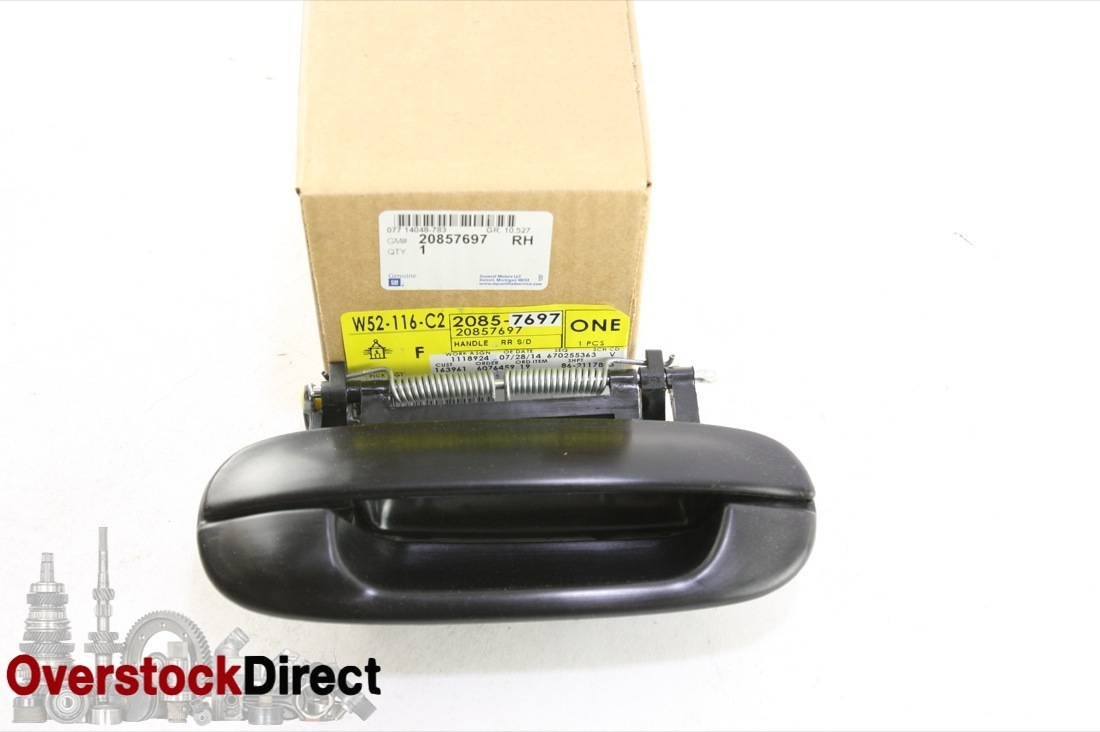 ***~ New OEM GM 20857697 Cadillac CTS DTS Deville LH Left Rear Door Handle - image 1