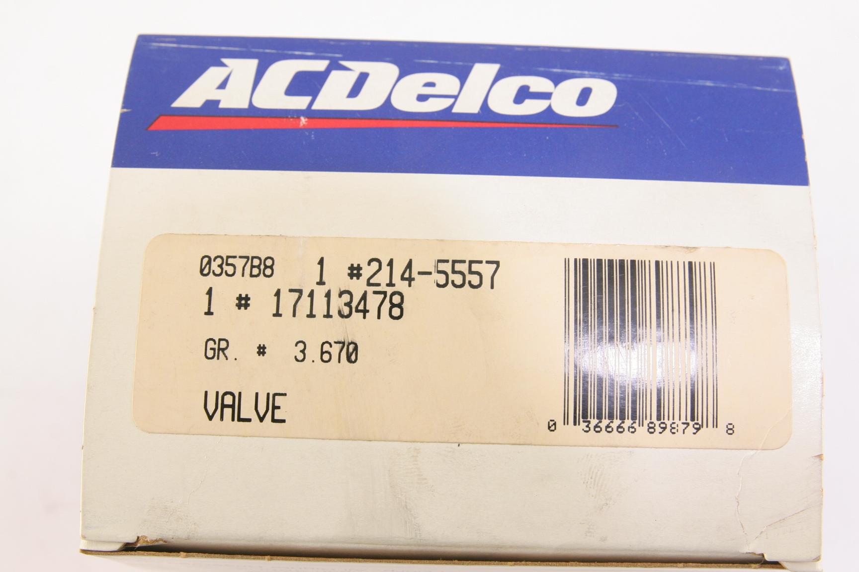 NEW ACDelco OEM 214-5557 EGR Valve 17113478 Free Shipping NIP - image 2