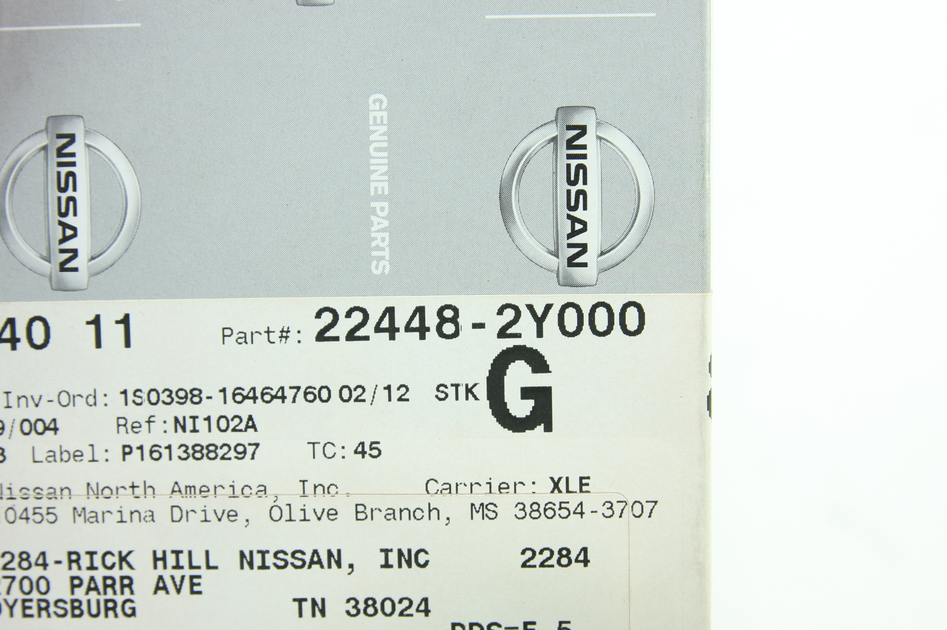 ** New Genuine OEM Nissan 224482Y000 Ignition Coil Fast Free Shipping - image 2