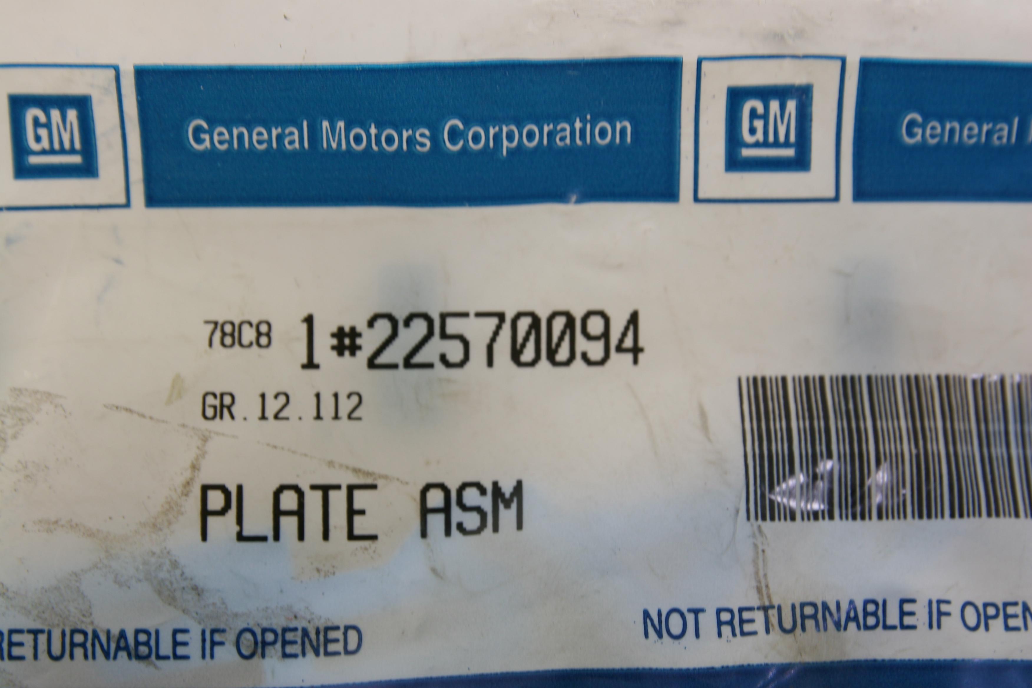 *~ New Genuine OEM GM 22570094 GRAND Emblem Fast Free Shipping - image 2