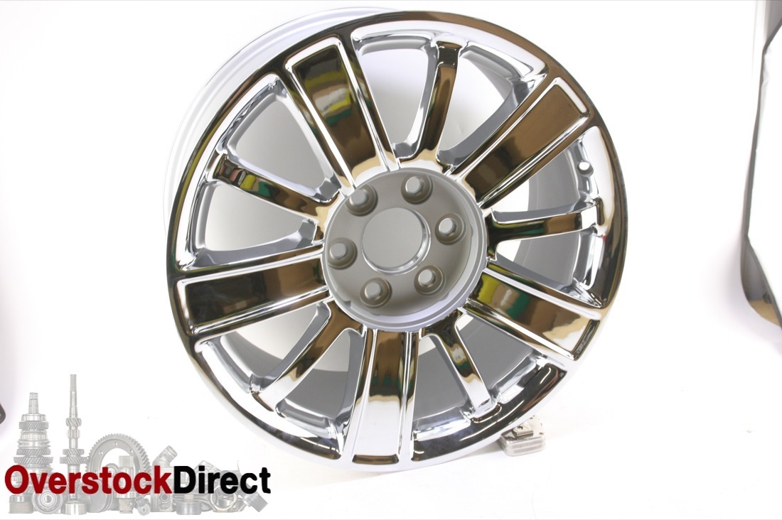 ** New OEM GM 22871003 1 Chevy Silverado Tahoe Suburban 20'' Chrome Wheel - image 1