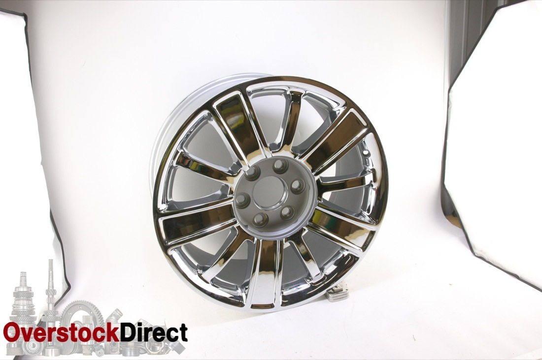 ** New OEM GM 22871003 1 Chevy Silverado Tahoe Suburban 20'' Chrome Wheel - image 3