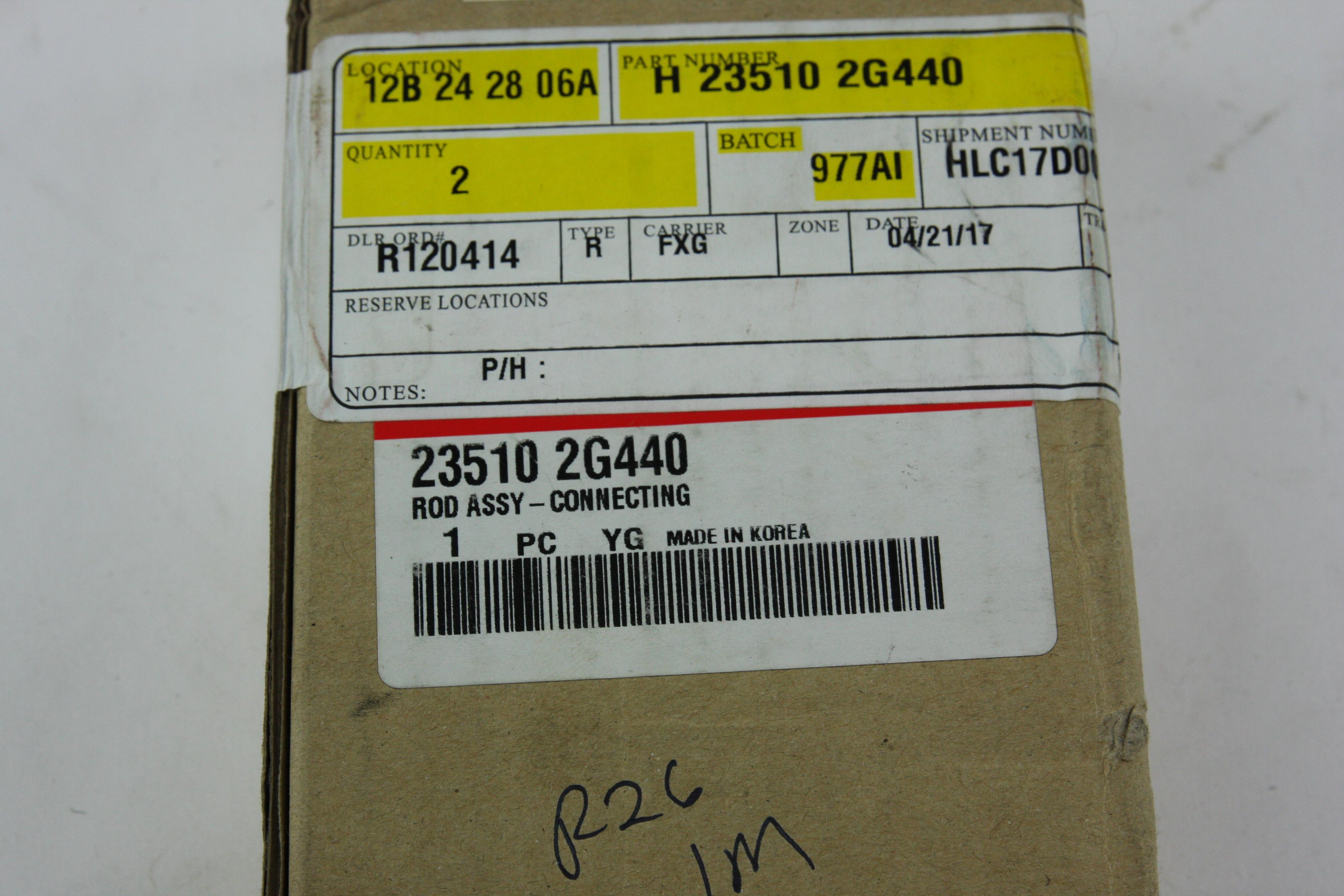 *** New Genuine OEM 235102G440 Kia 13-15 Optima Engine Conrod Connecting Rod - image 3