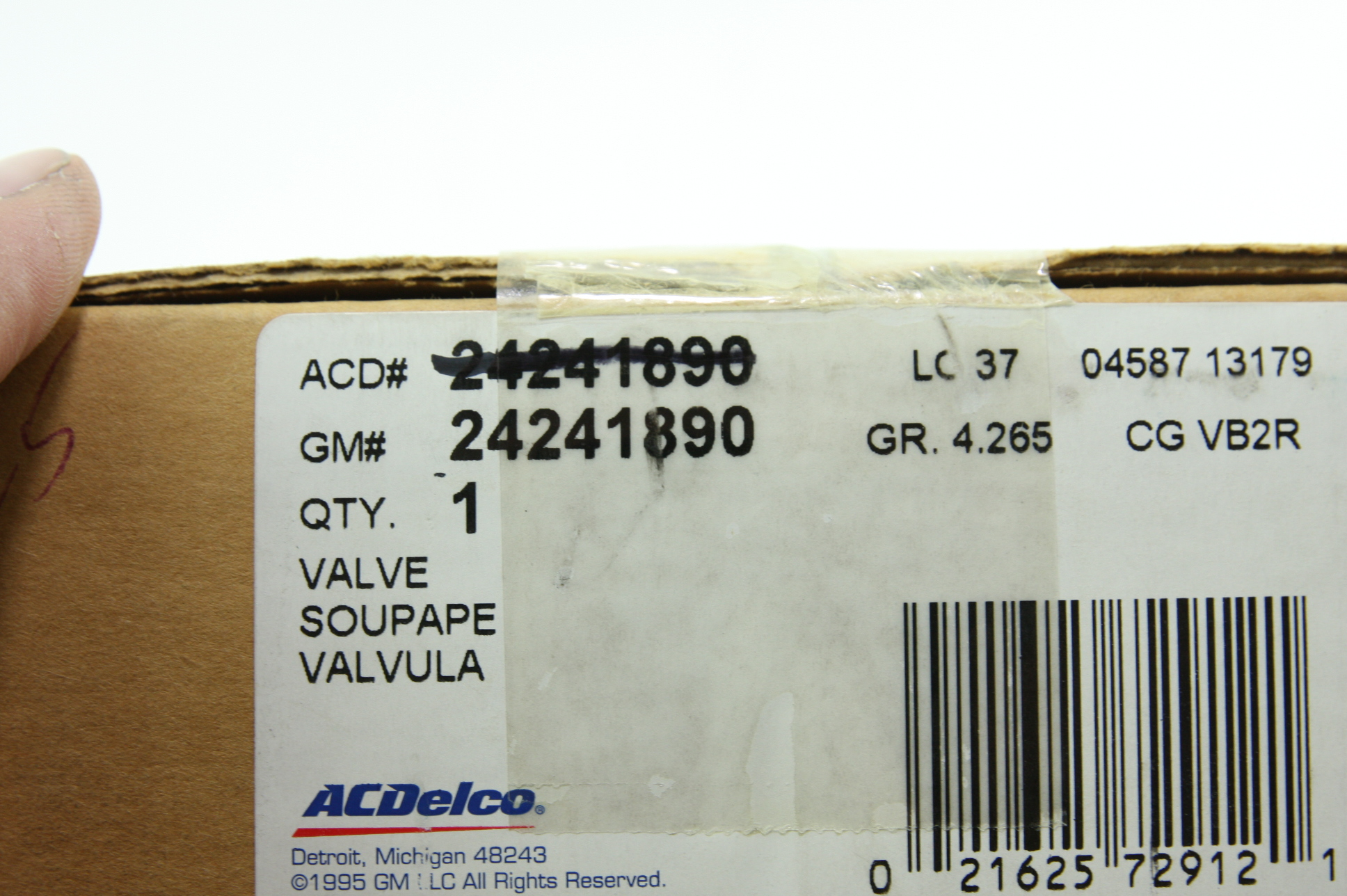 New Genuine OEM ACDelco GM 24275872 Auto Trans Control Solenoid Free Shipping - image 2