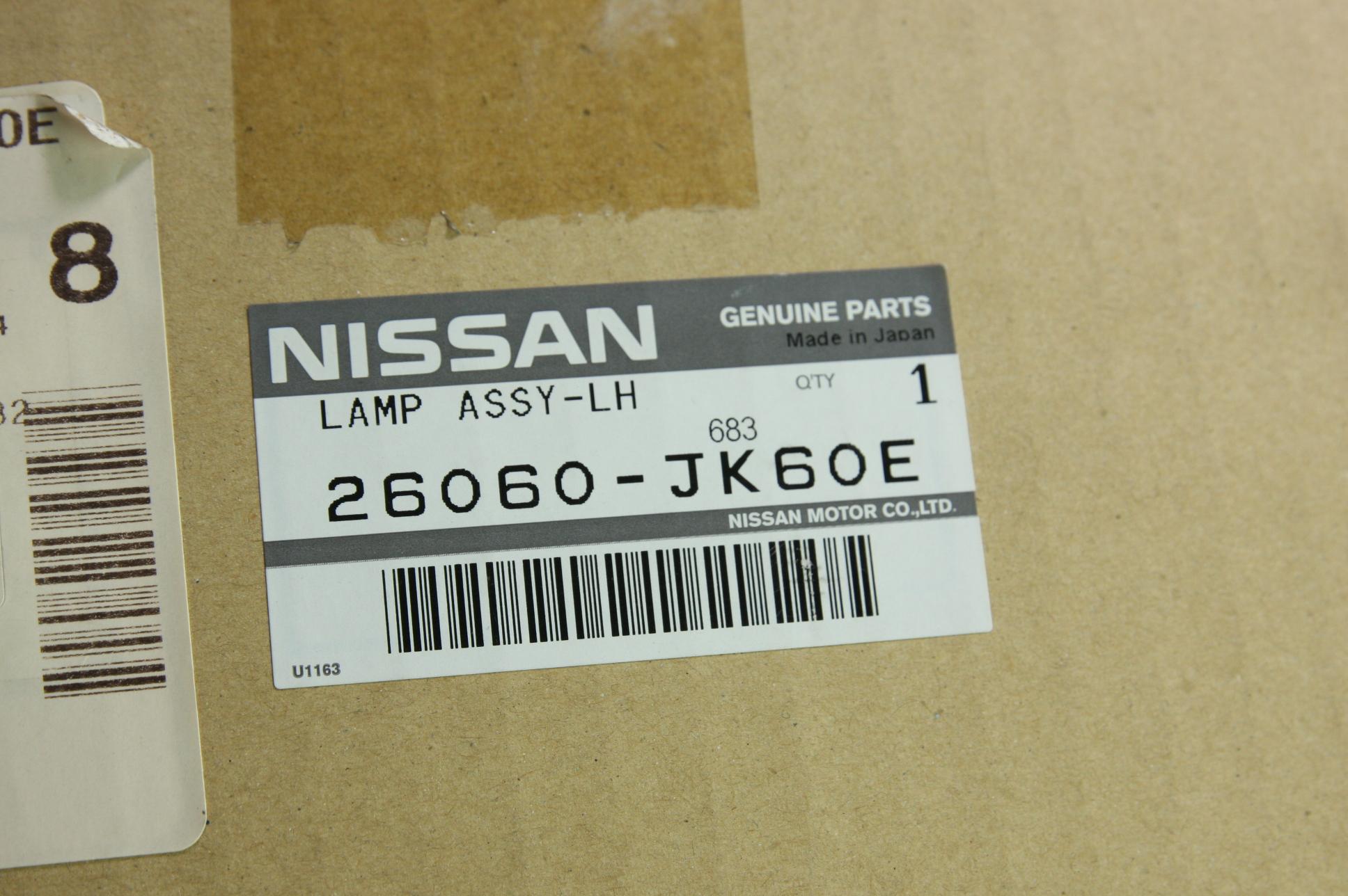 * Infiniti G37 Sedan Headlight LH Driver Side Genuine Nissan OEM 26060JK60E New - image 2