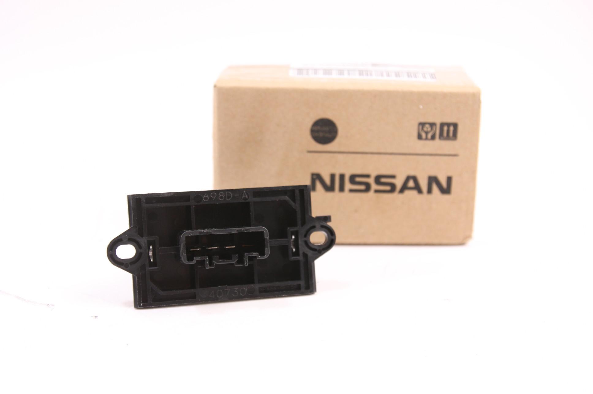 **** New OEM Nissan 27150-ED00A A/C Blower Motor Resistor Fast Free Shipping NIP - image 1