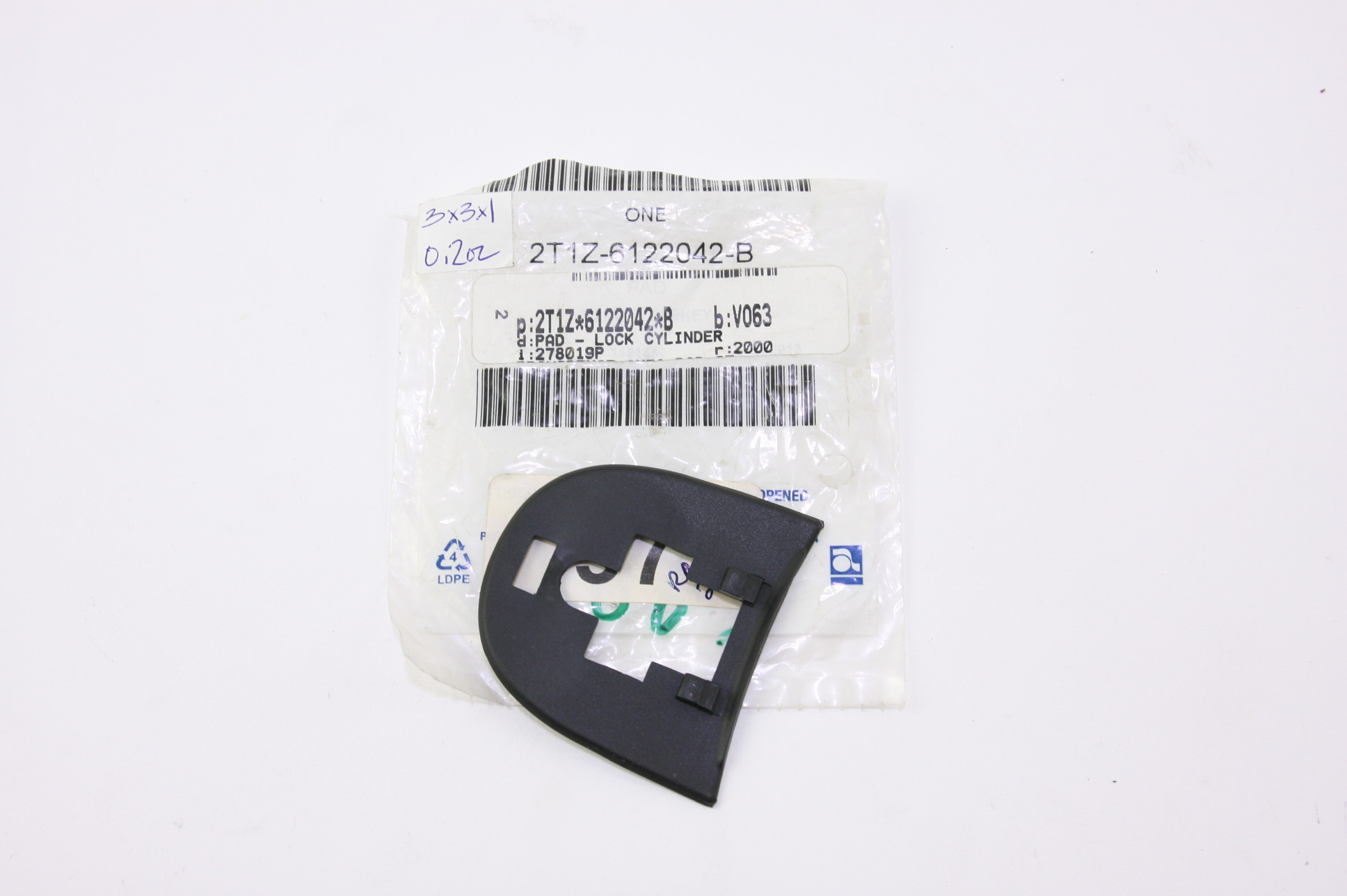 *~ New OEM 2T1Z6122042B Ford 10-13 Transit Connect Front Door Pad - image 1