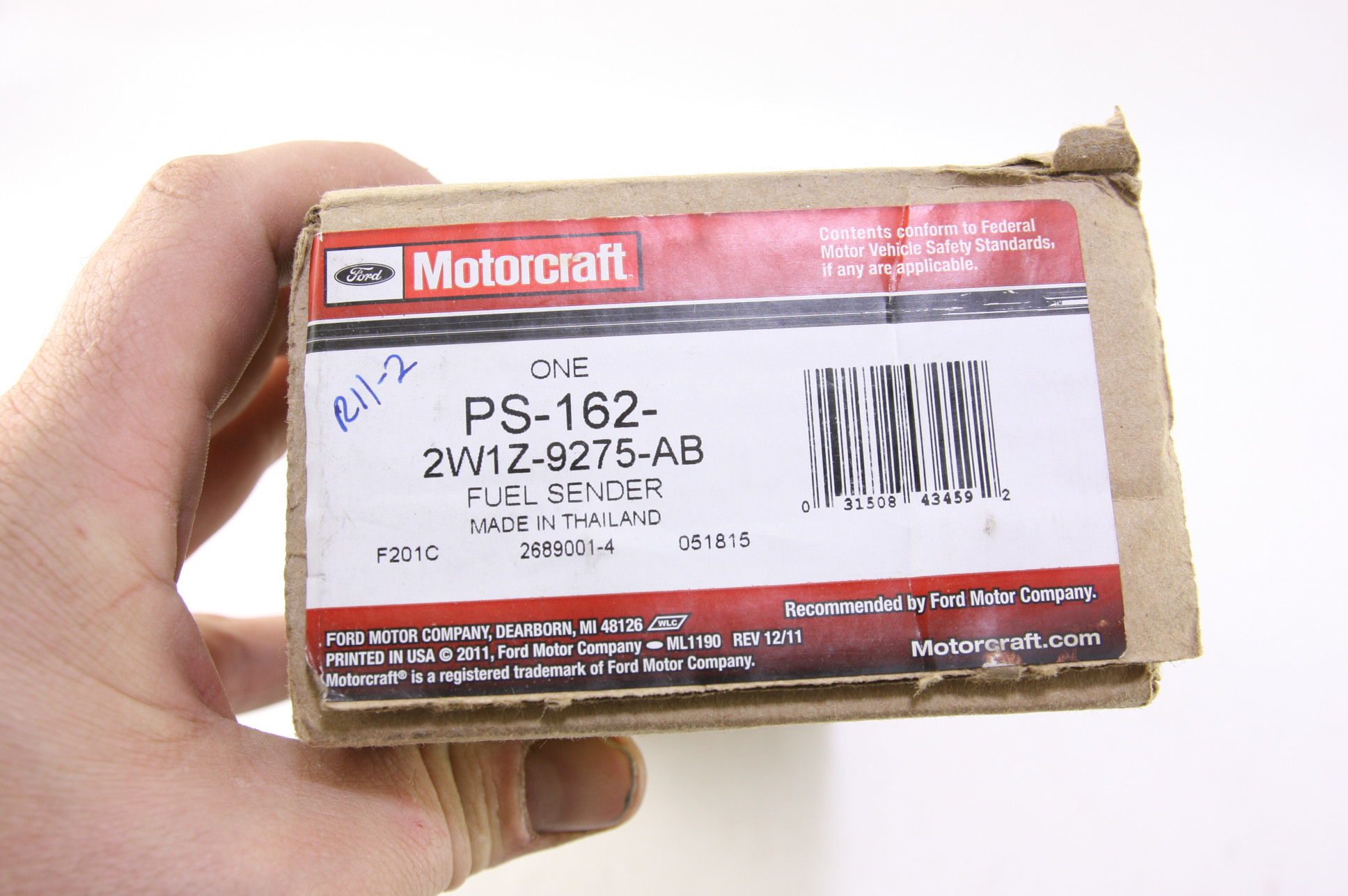 *~ New OEM Ford 2W1Z9275AB Motorcraft PS162 Fuel Gauge Tank Level Sending Unit - image 2