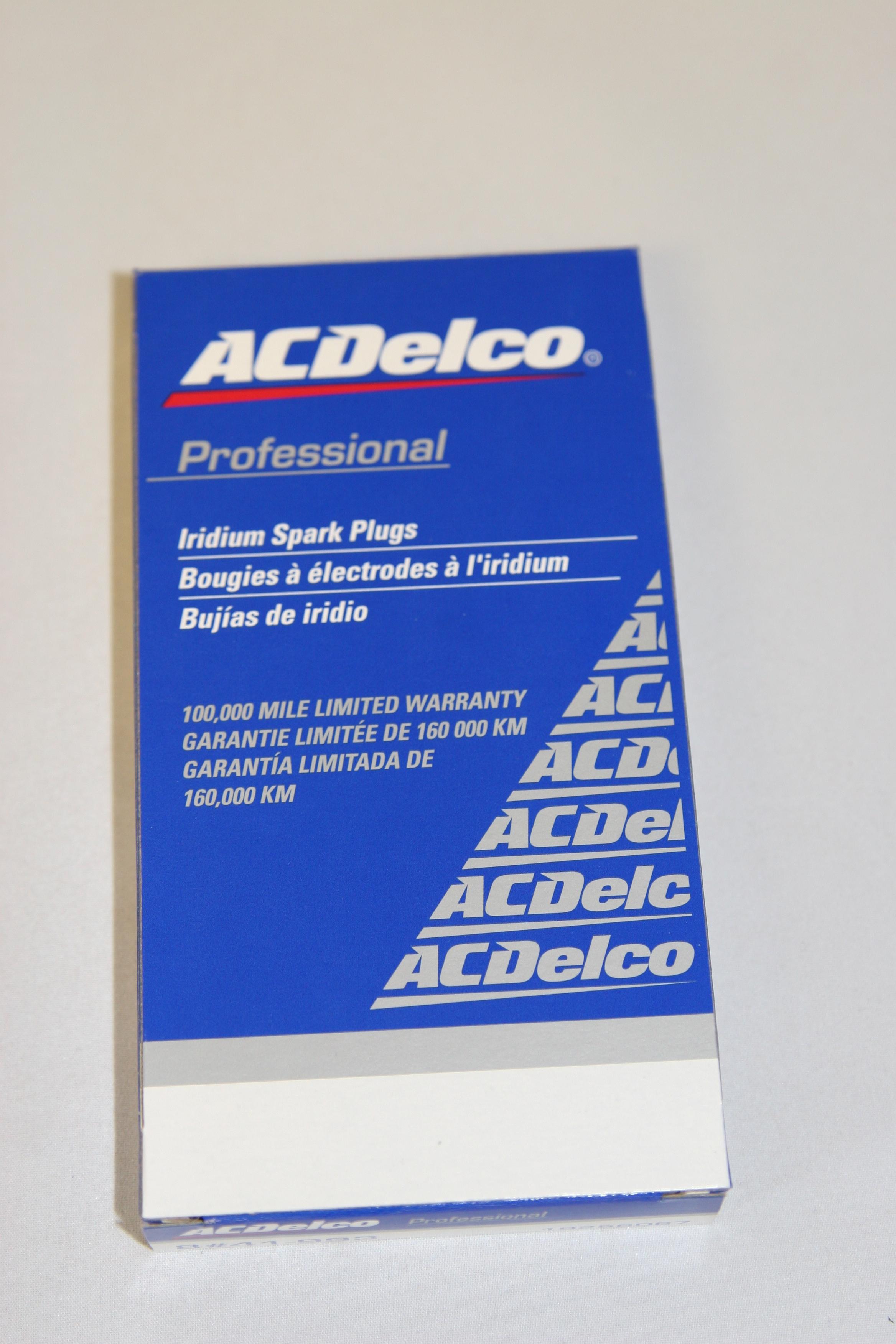 New ACDelco Professional 41-993 GM 19256067 IRIDIUM Spark Plugs Case Pack of 104 - image 7
