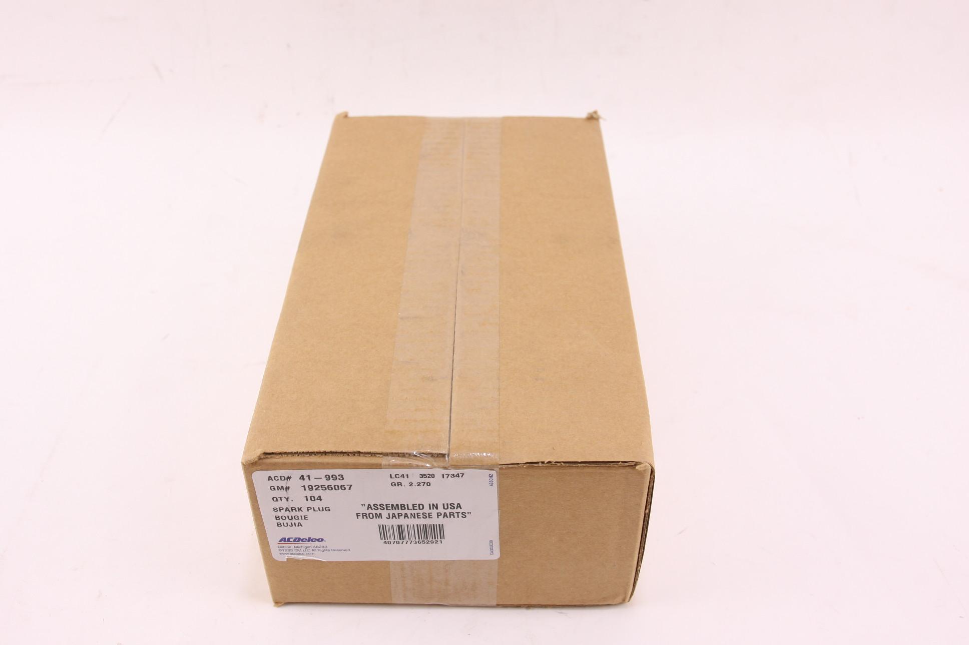 New ACDelco Professional 41-993 GM 19256067 IRIDIUM Spark Plugs Case Pack of 104 - image 10