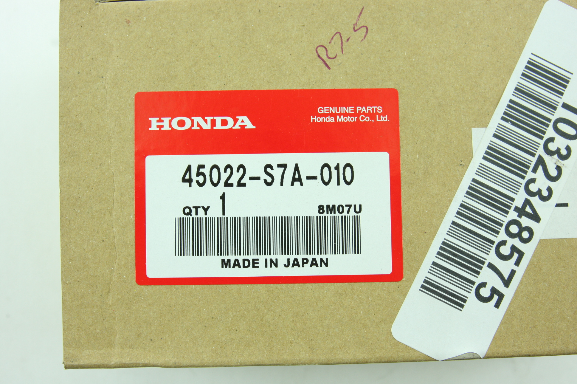 *New OEM 45022-S7A-010 Genuine Honda Front Brake Pads Set Civic 3Dr SI Acura RSX - image 2