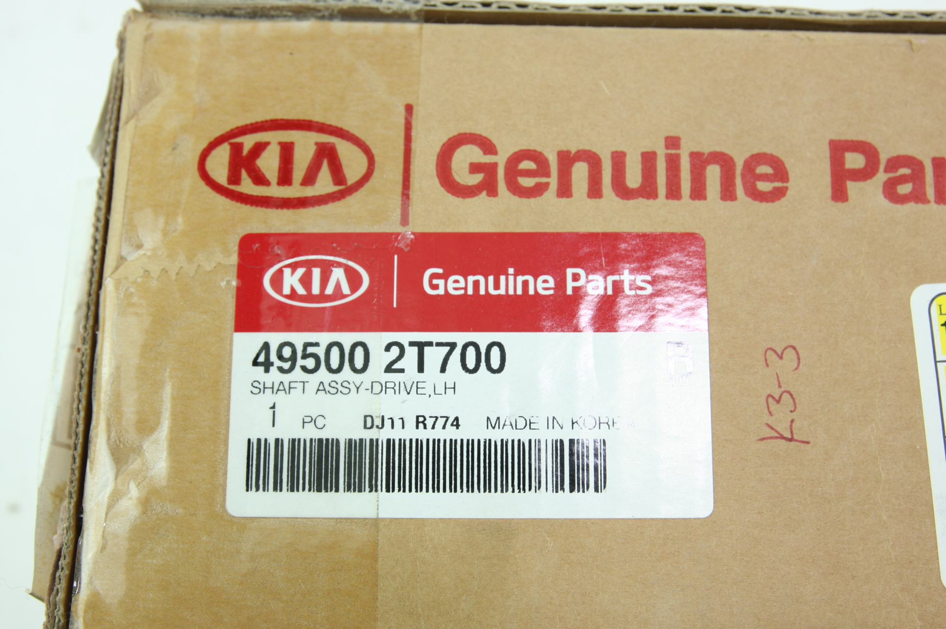 ** Genuine Kia Front Left CV Axle Assembly New OEM 495002T700 Fast Free Shipping - image 2