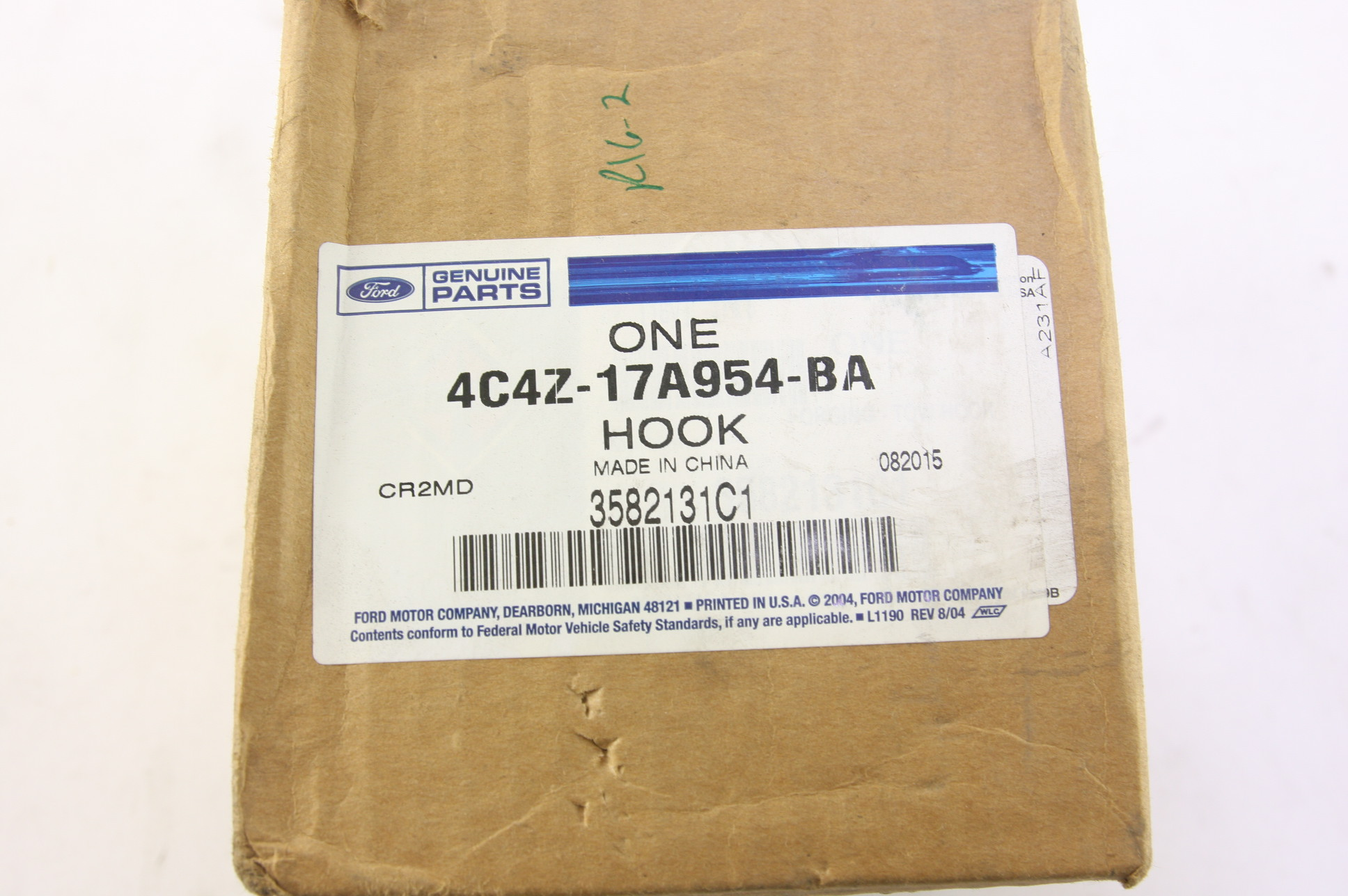 **~ New Ford OEM 4C4Z17A954BA Left Tow Hook Free Shipping - image 2