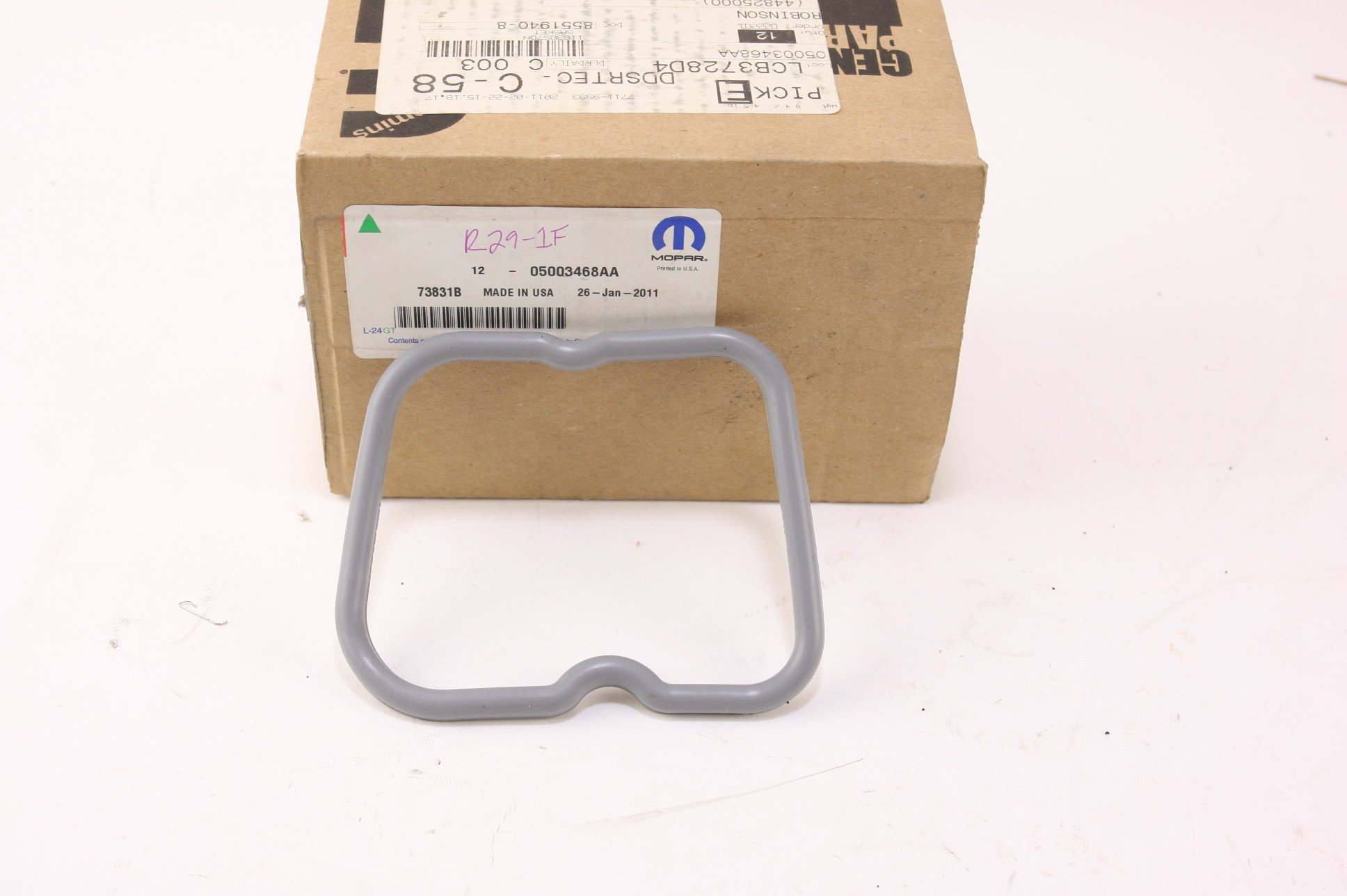 **~ New Mopar 5003468AA Engine Valve Cover Gasket 5003468-AA Free Shipping - image 1