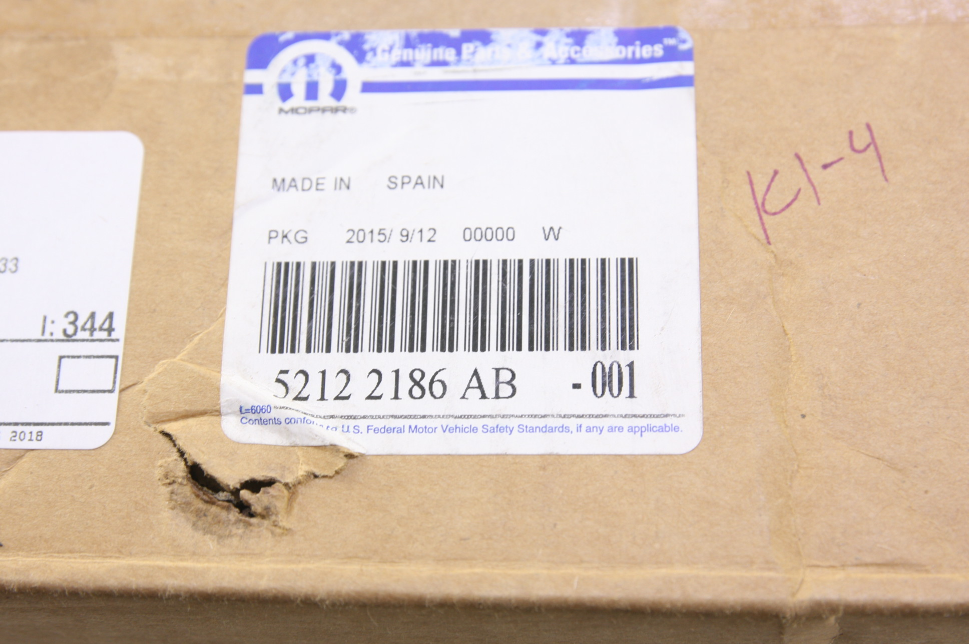 **~ New Mopar OEM 52122186AB Disc Brake Hub and Bearing Fast Free Shipping - image 2