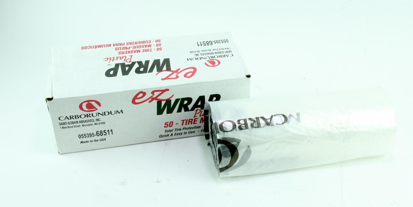 """*** Carborundum EZ Wrap Premier Paintable Wheel Cover 17"""" 50/box - image 1"""