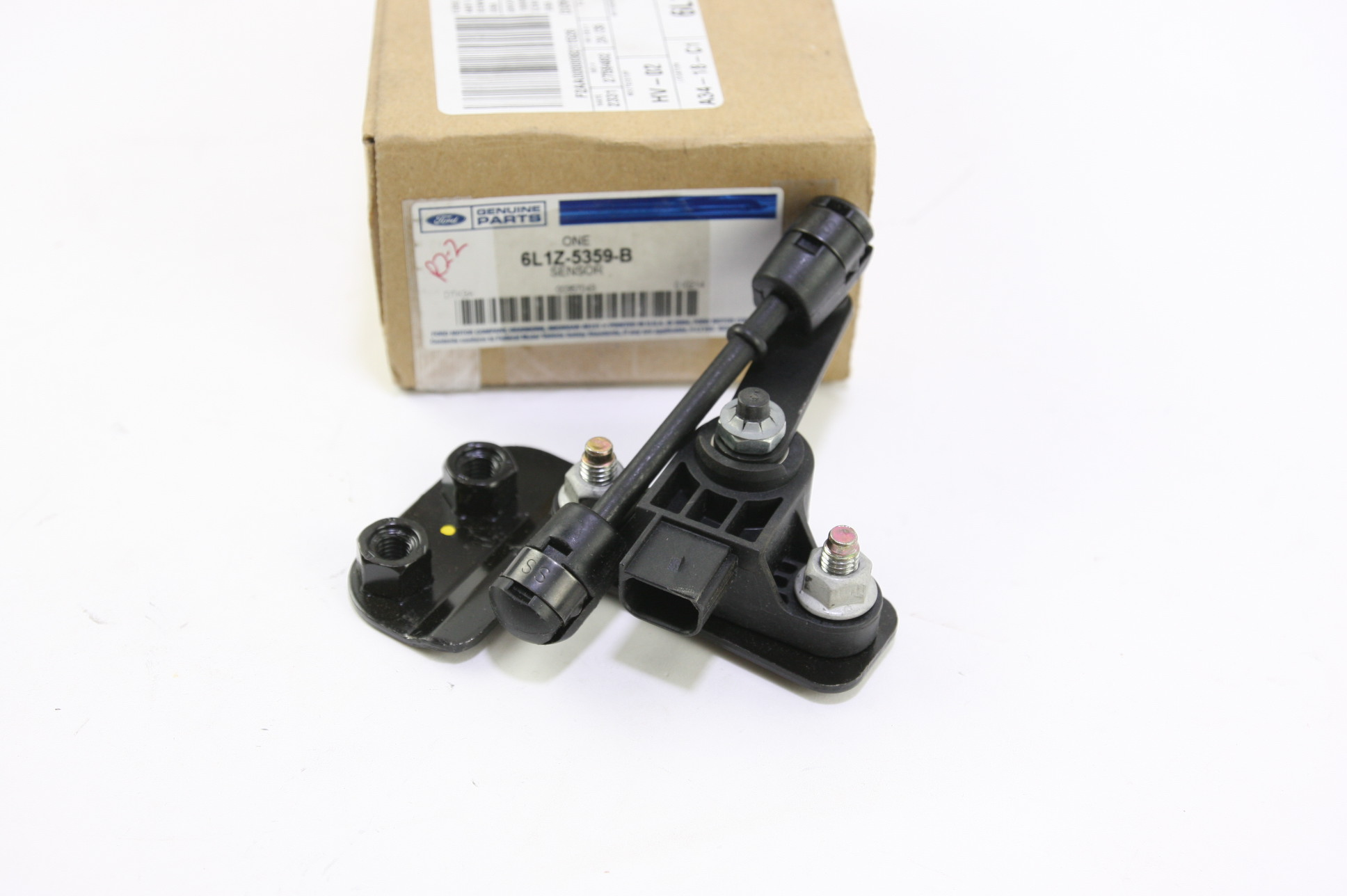 *** New OEM 6L1Z5359B Ford Lincoln Front Driver Side Air Ride Suspension Sensor - image 1