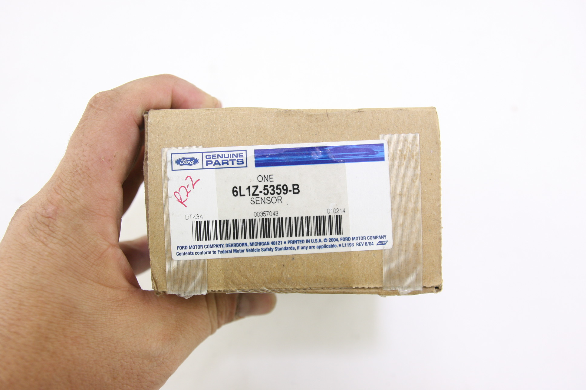 *** New OEM 6L1Z5359B Ford Lincoln Front Driver Side Air Ride Suspension Sensor - image 2