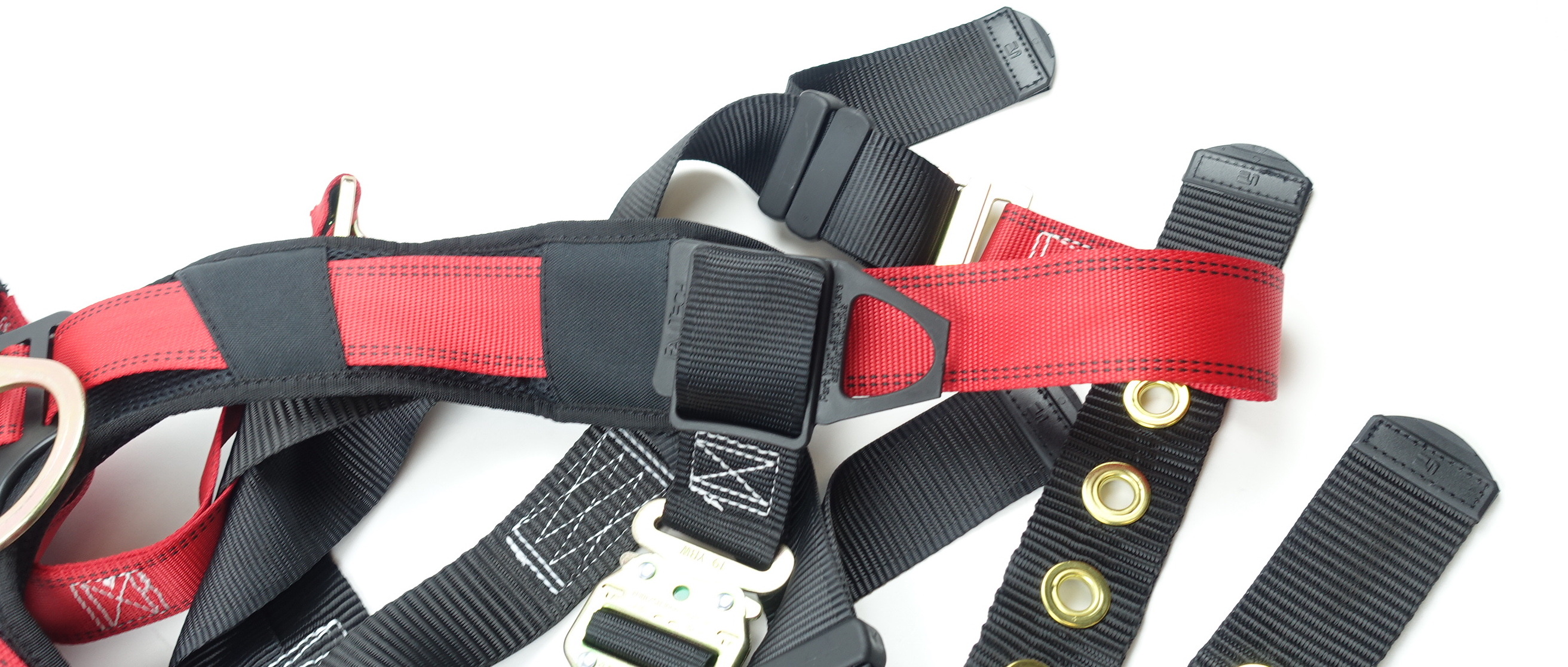FallTech Fall Safety Harness L/XL Non-Belted Back D-Ring Tongue Buckle Legs - image 10