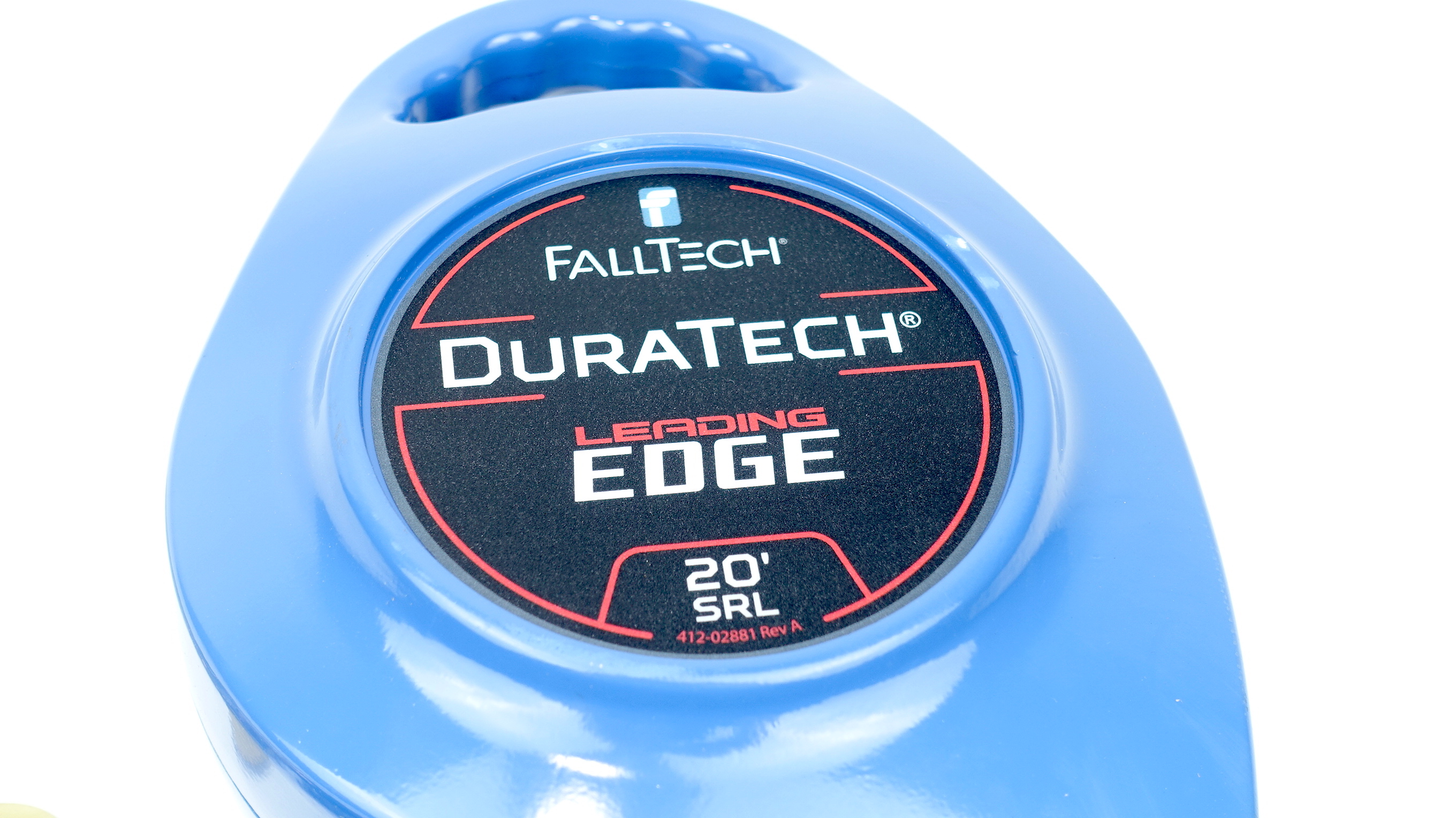 """FallTech 20' Leading Edge 7/32"""" Cable SRD DuraTech Steel Swivel Snaphook 7227CLE - image 7"""