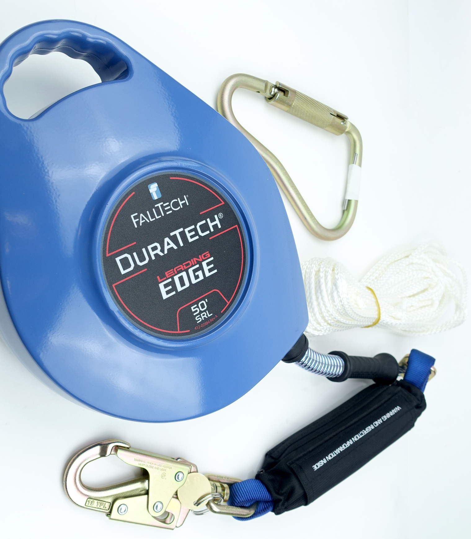 Falltech DuraTech Leading Edge Self-Retracting Lifeline - 50' Galvanized Cable - image 1