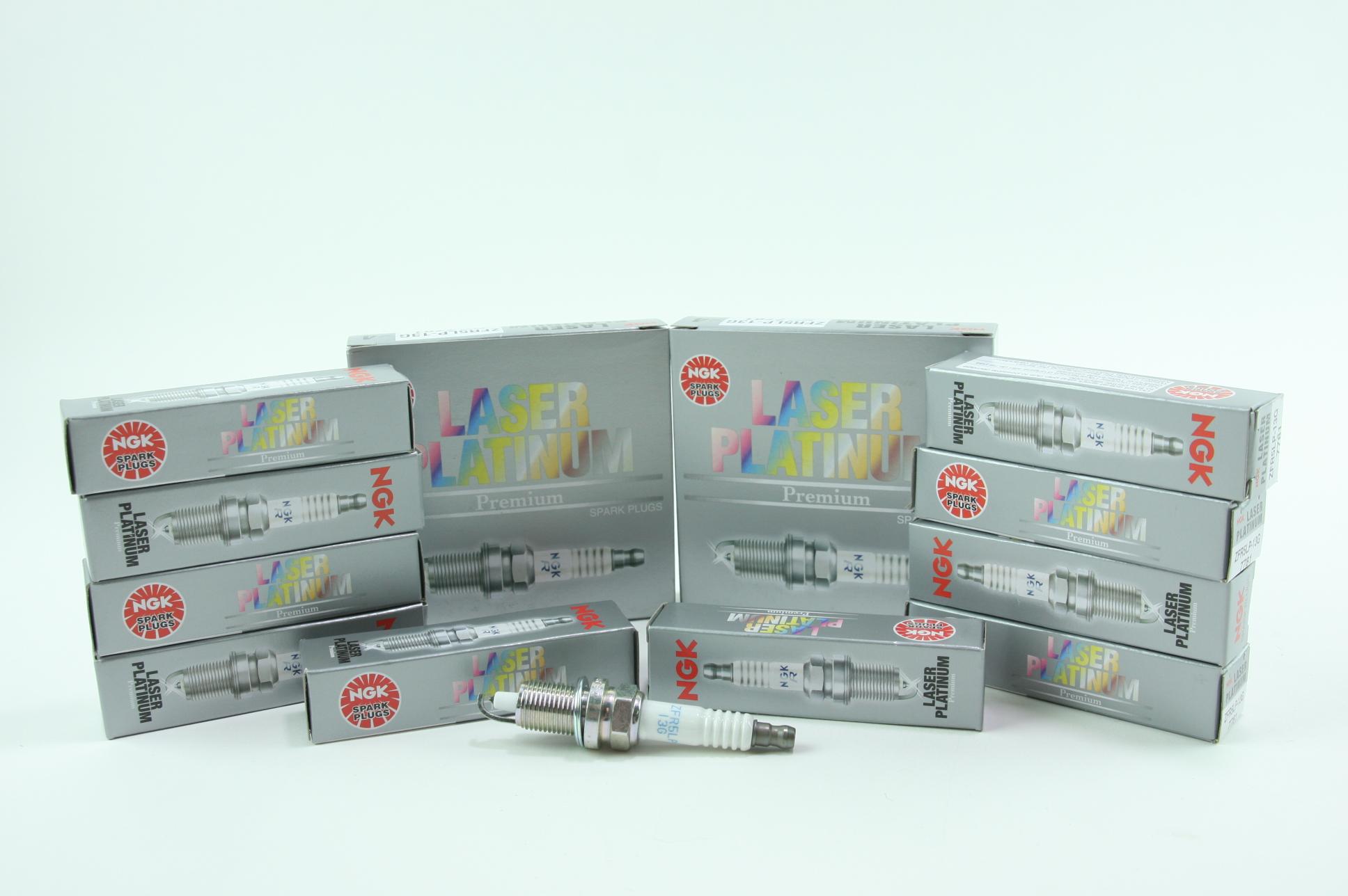Set of 10 New NGK 7781 Premium Spark Plug Laser Platinum ZFR5LP13G Free Shipping - image 1