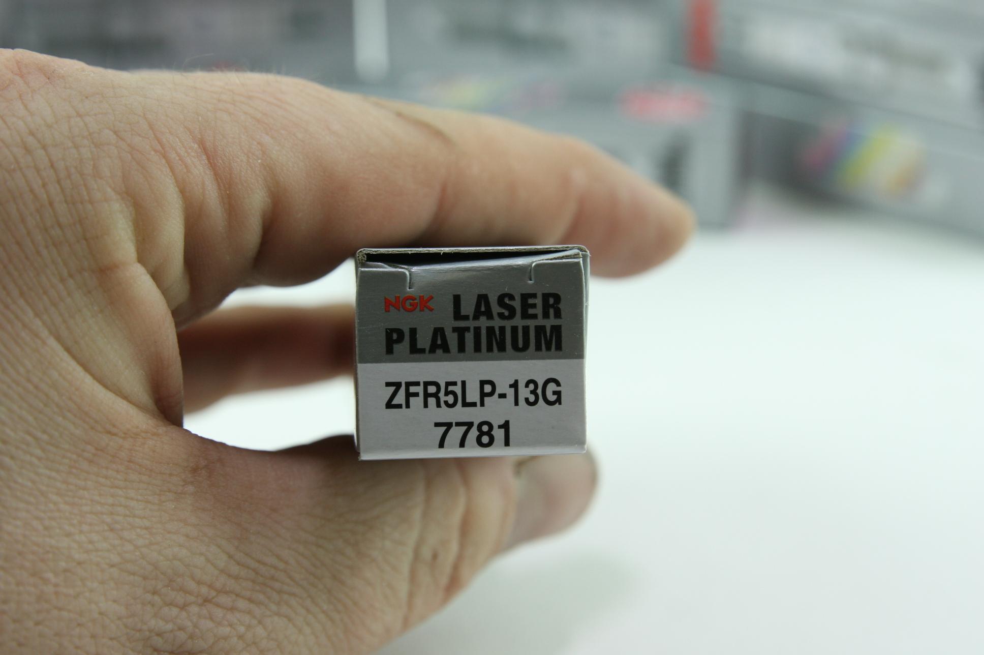 Set of 10 New NGK 7781 Premium Spark Plug Laser Platinum ZFR5LP13G Free Shipping - image 2