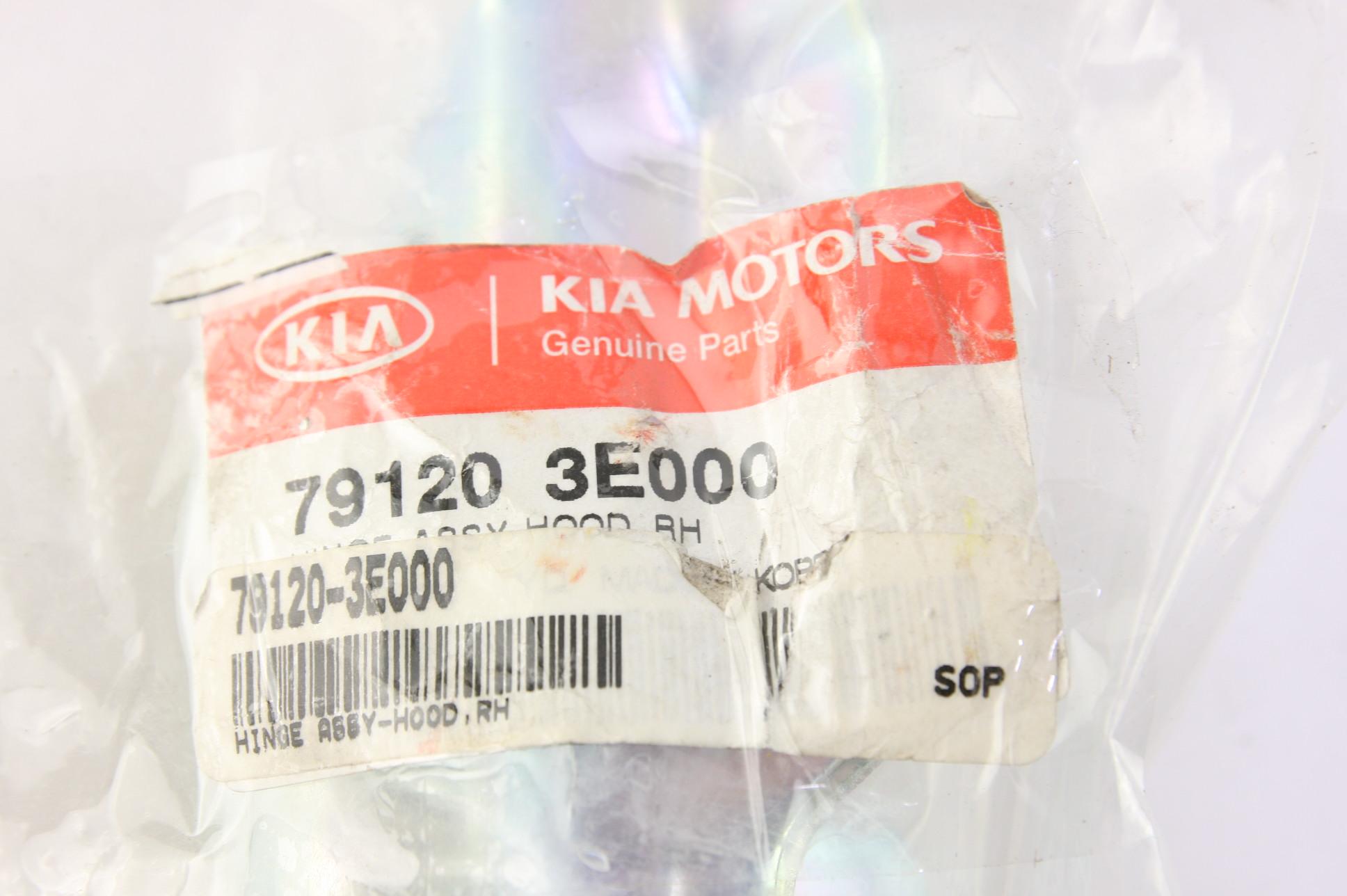 ** New Genuine KIA OEM 791203E000 Right Hood Hinge 2003-2009 Sorento NIP - image 2