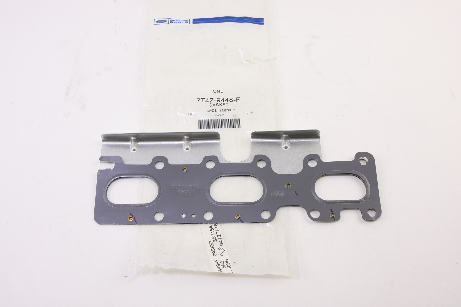*~ New OEM 7T4Z9448F Ford [1] Exhaust Manifold Gasket Fast Free Shipping - image 1