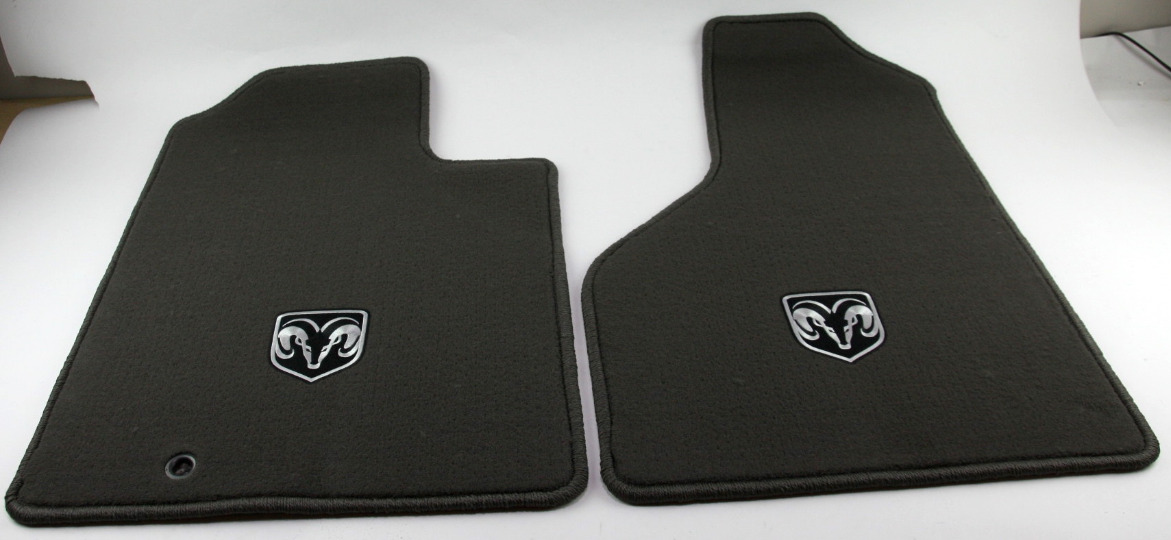 New OEM Mopar 82209560 06-08 Dodge Ram 1500 Front Carpeted Floor Mats Dark Khaki - image 1