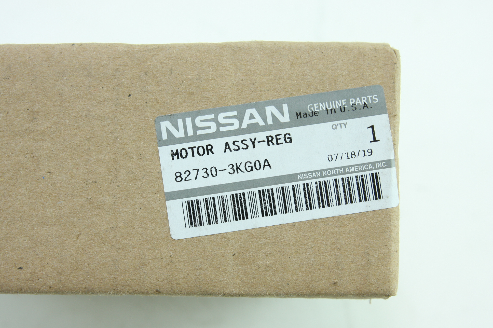 * Genuine Nissan 82730-3KG0A Infiniti Window Motor New OEM Fast Free Shipping - image 2