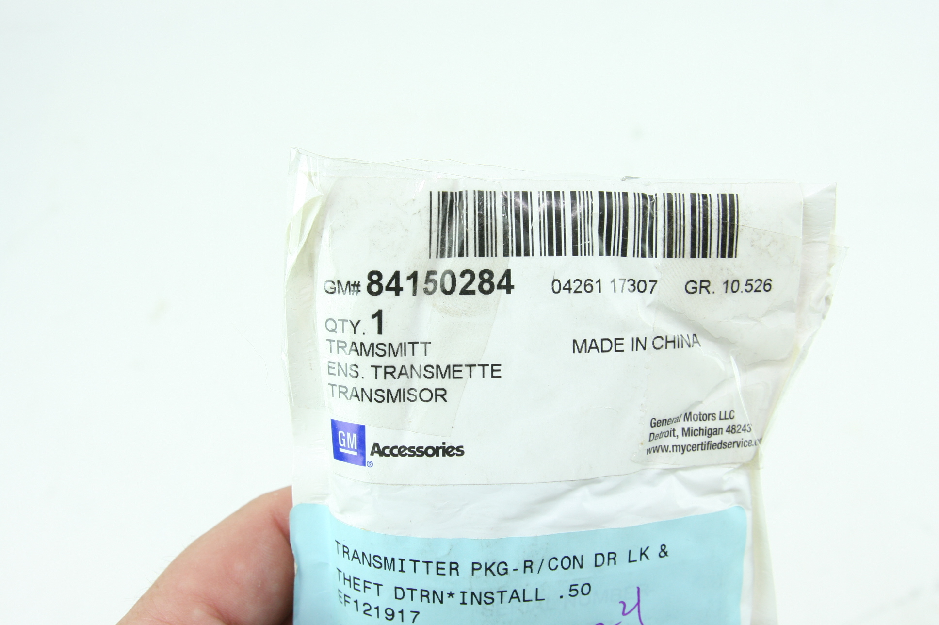 * New OEM 84150284 Chevy 17-18 Chevy Cruze Sedan Remote Start Kit Free Shipping - image 6